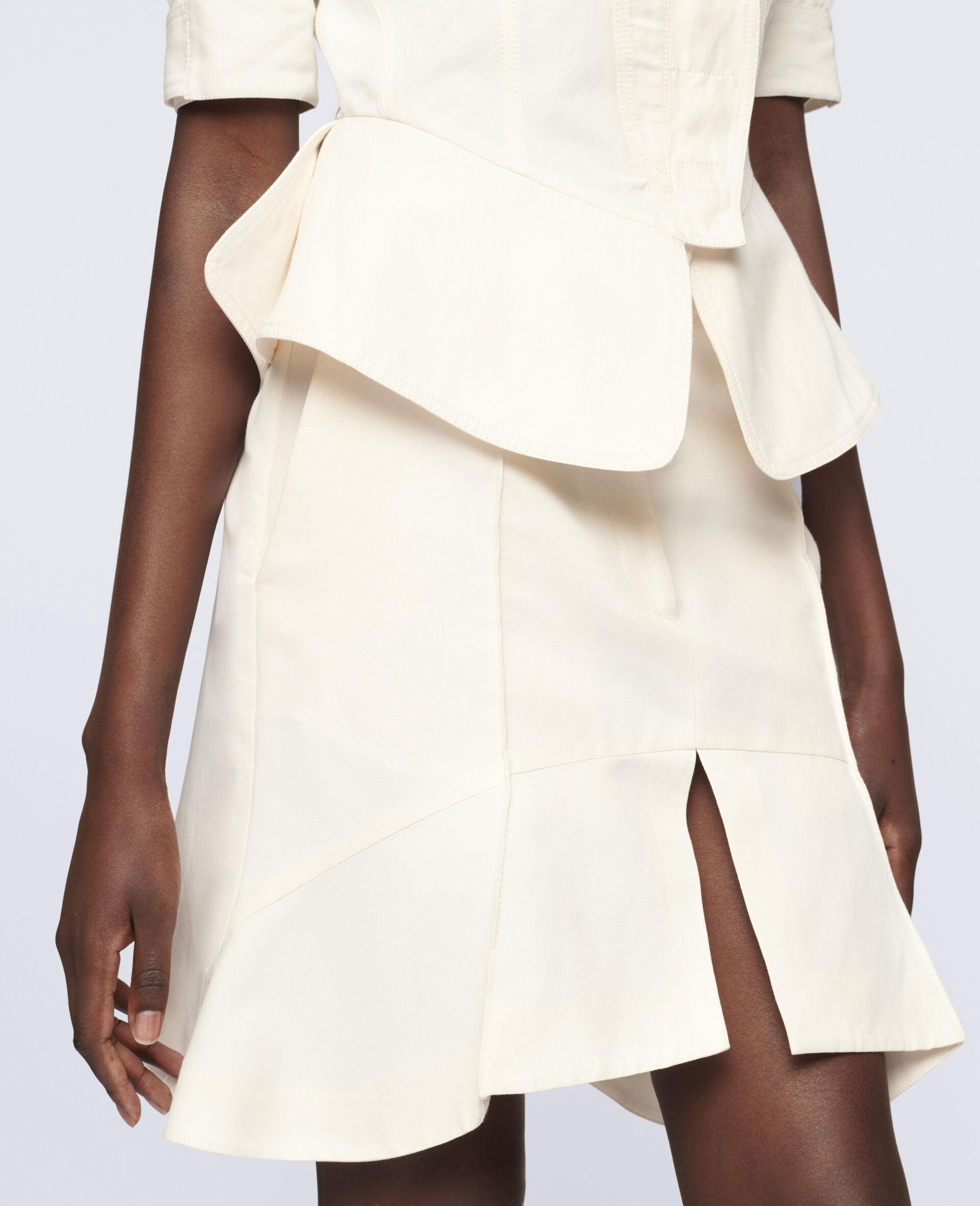 Arabella Mini Skirt-White-large image number 3