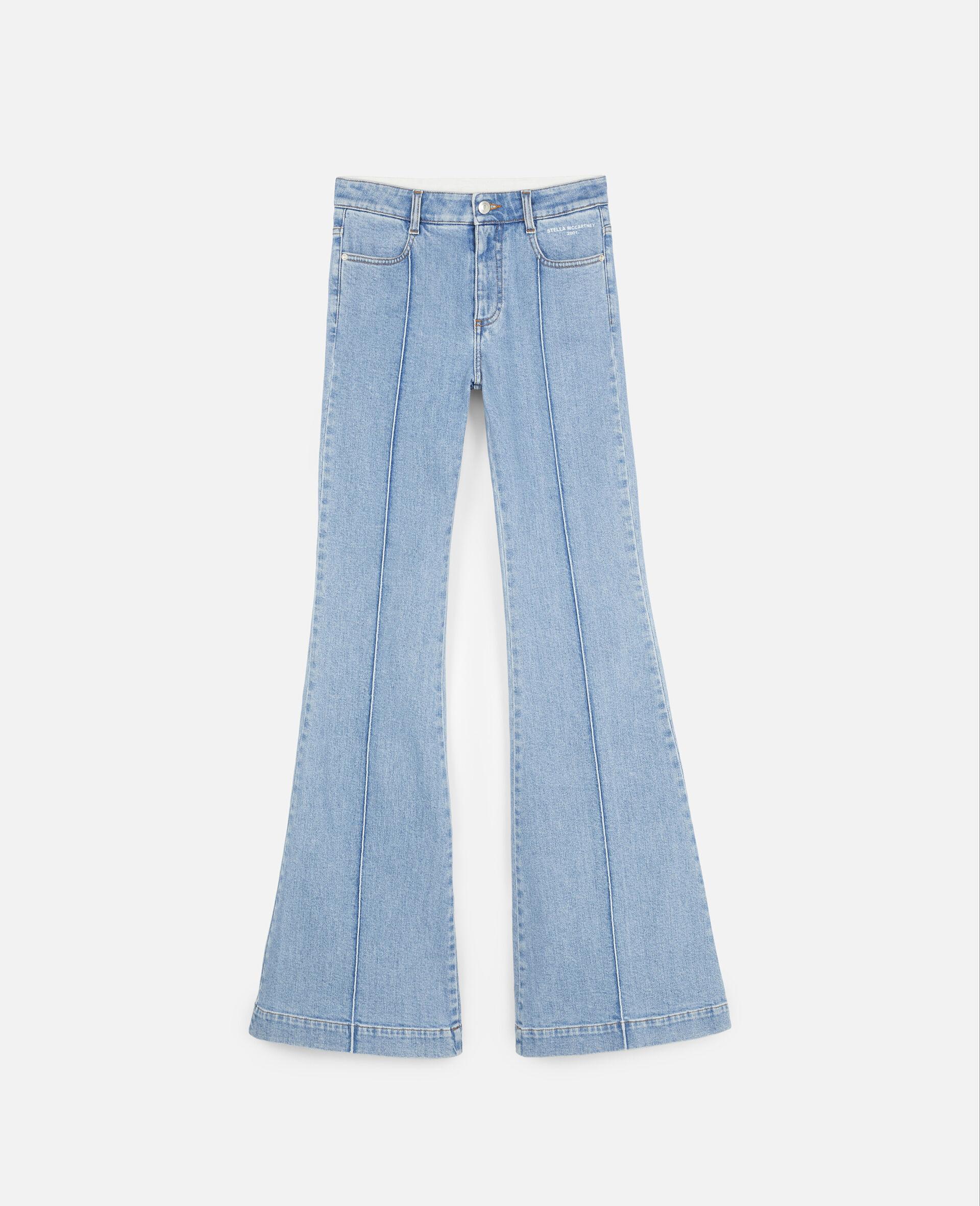 70's 喇叭裤-蓝色-large image number 0