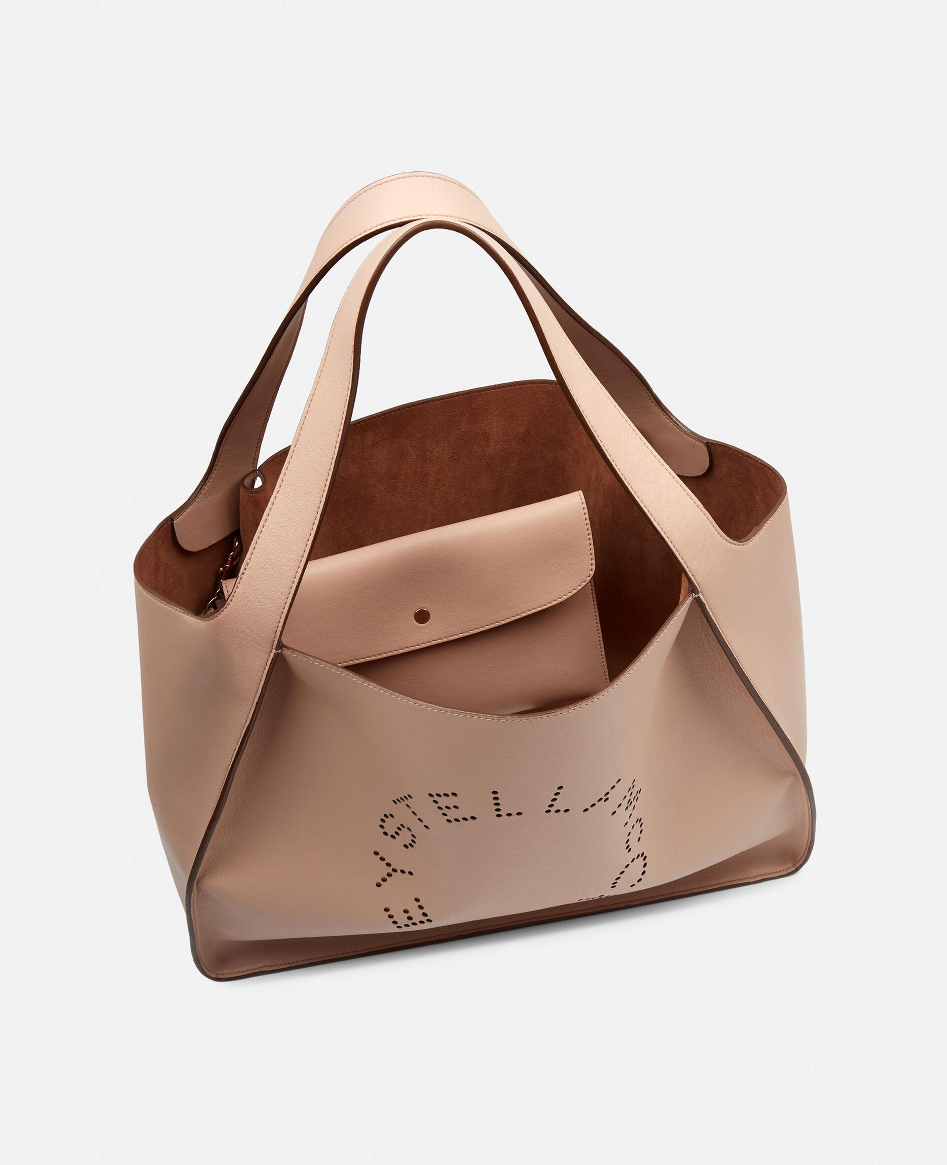 Stella Logo 托特包-棕色-large image number 3