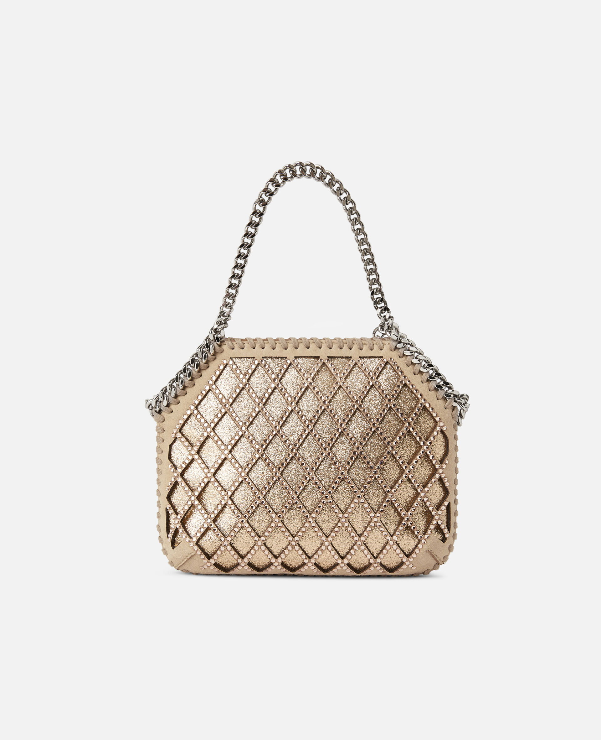 Mini-sac porté épaule Falabella-Rose-large image number 2