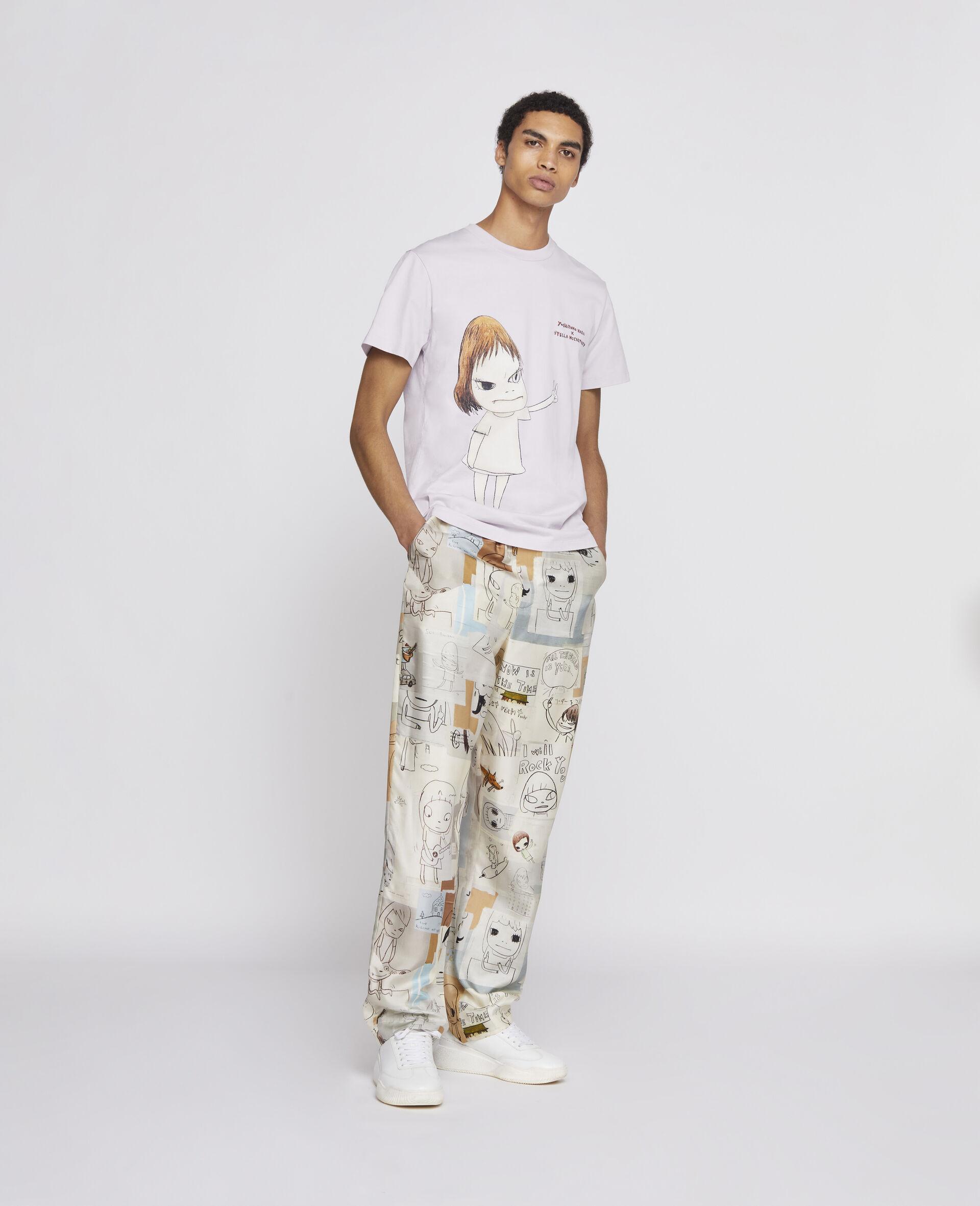 Nara Organic Cotton T-shirt -Purple-large image number 3