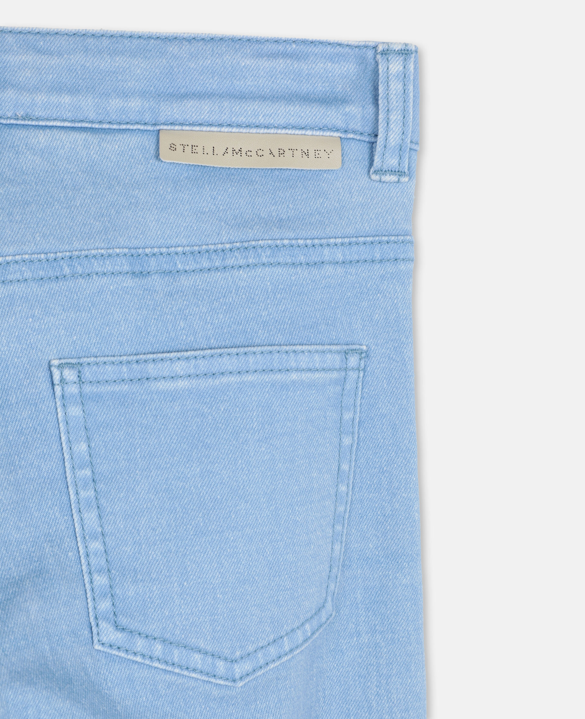 Swiggle Mom Denim Trousers-Pink-large image number 2