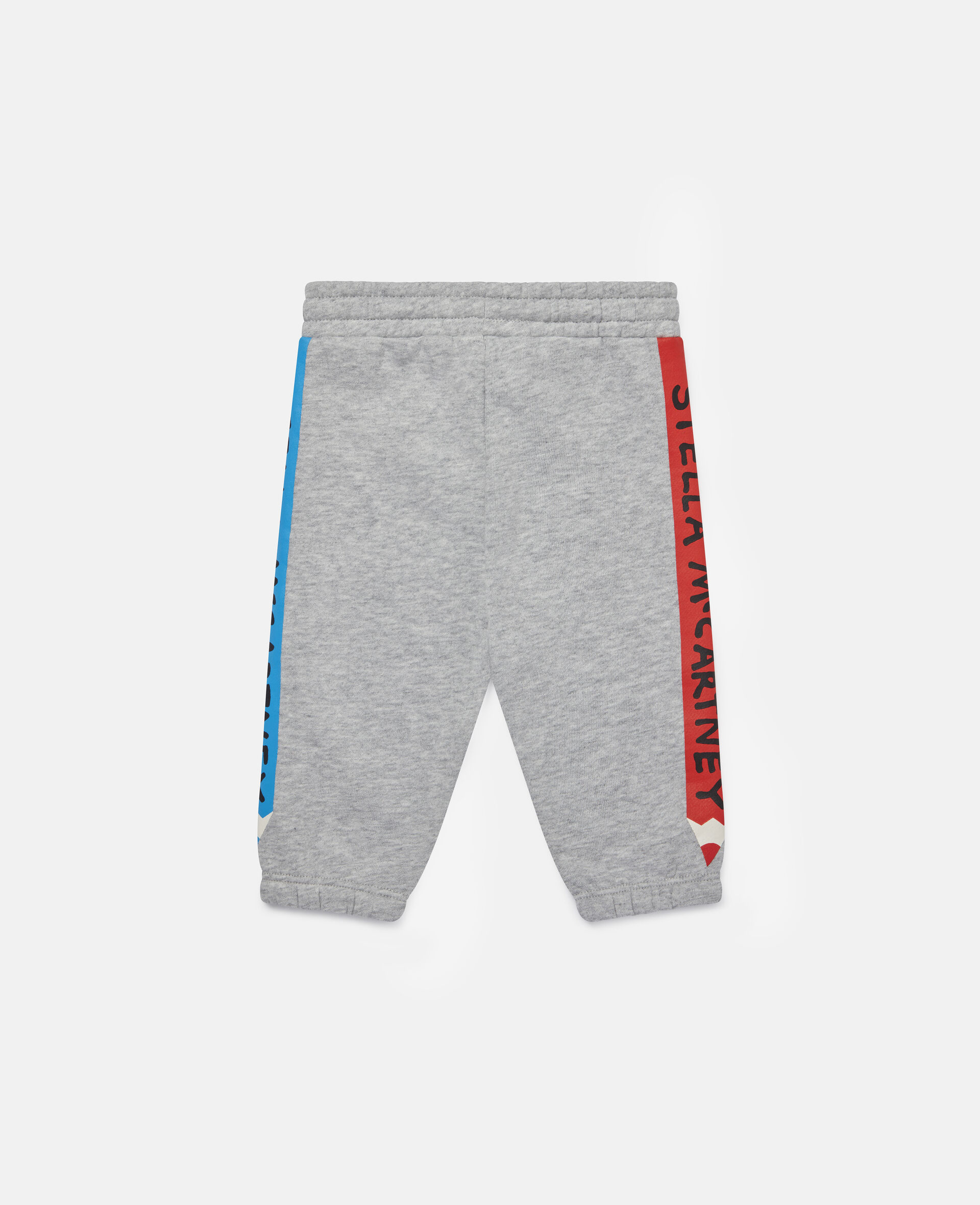 Pantalon de jogging en polaire à crayons-Gris-large image number 3