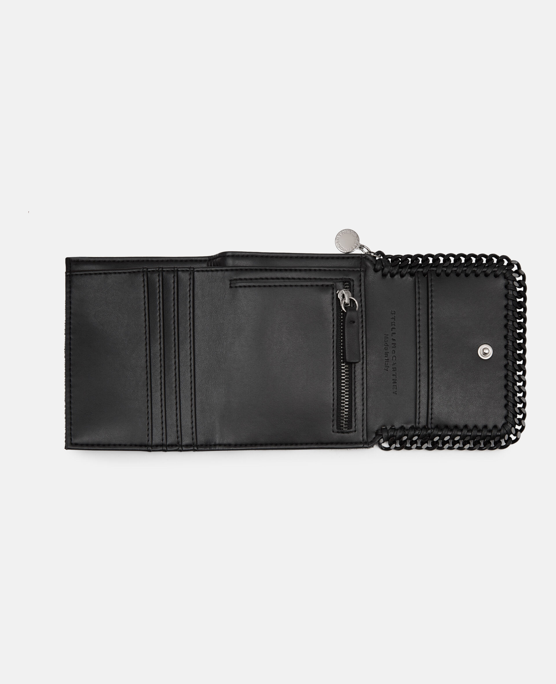 Falabella Small Wallet-Black-large image number 3