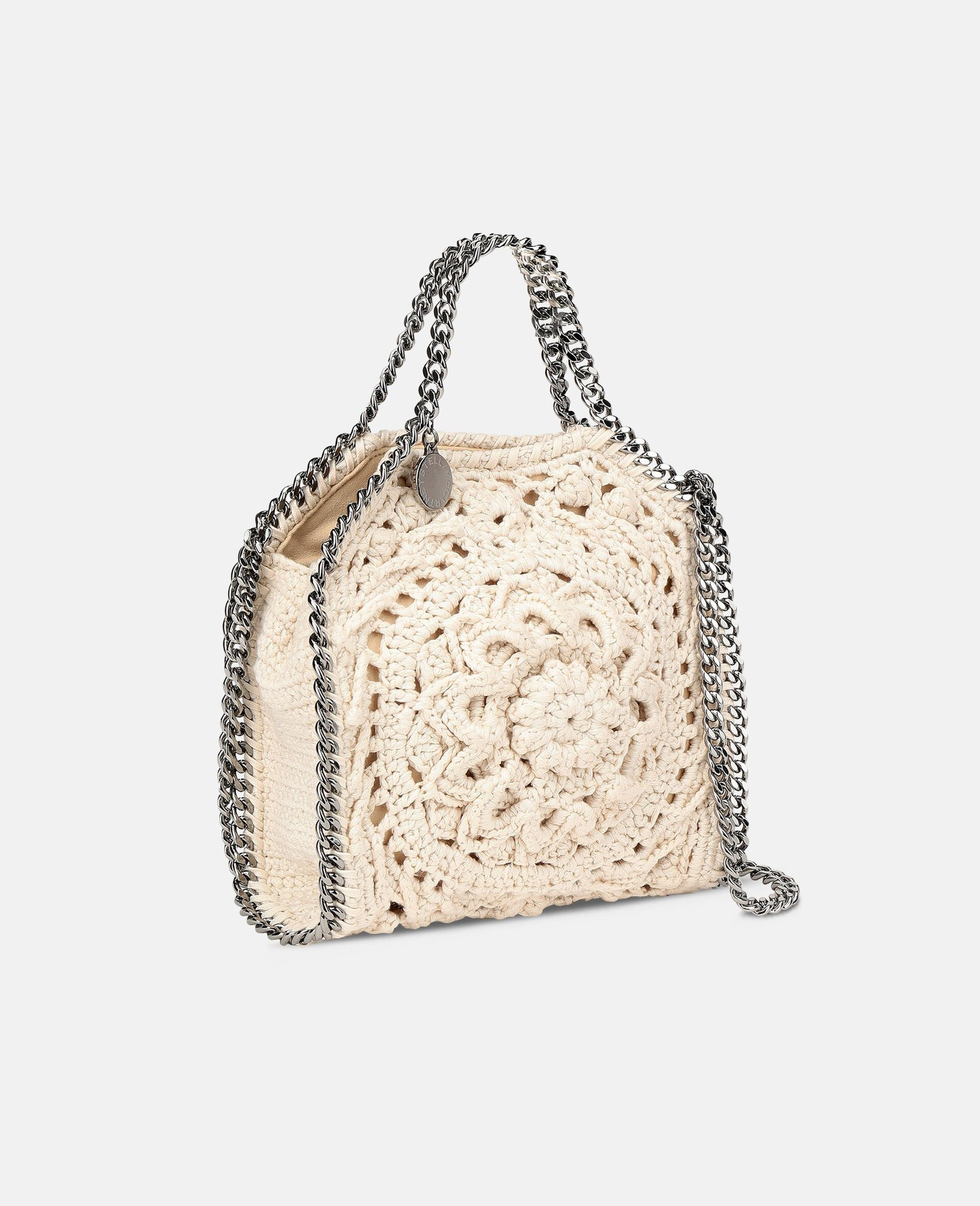 Falabella Tiny Tote-White-large image number 1