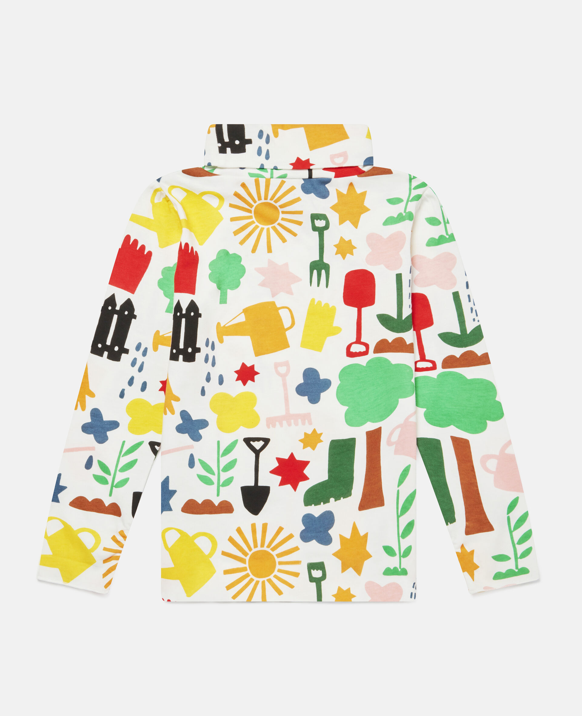 Garden Cotton Top -White-large image number 3