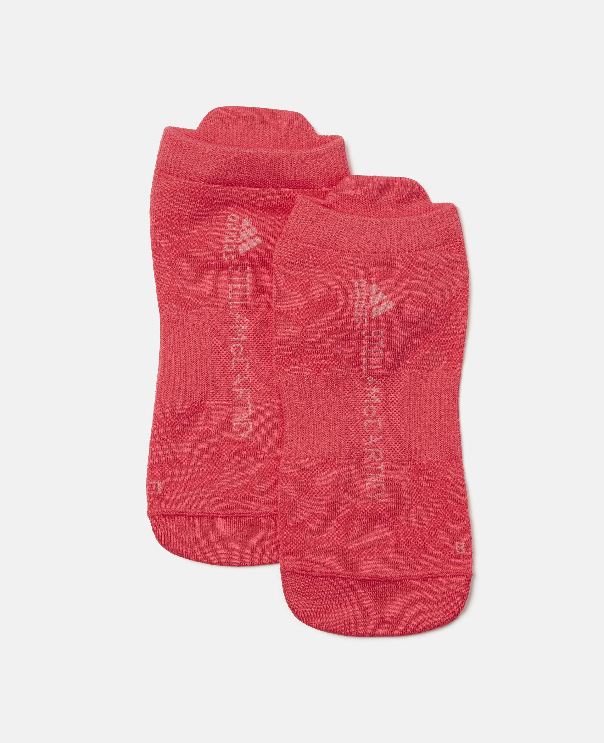 Active Pink Training Hidden Socks-Multicolour-large image number 0