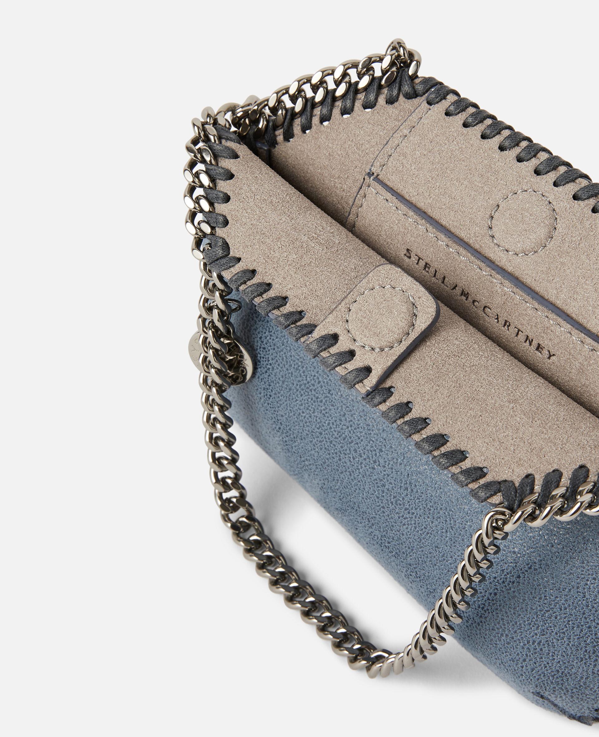 Mini Falabella Shoulder Bag-Blue-large image number 3