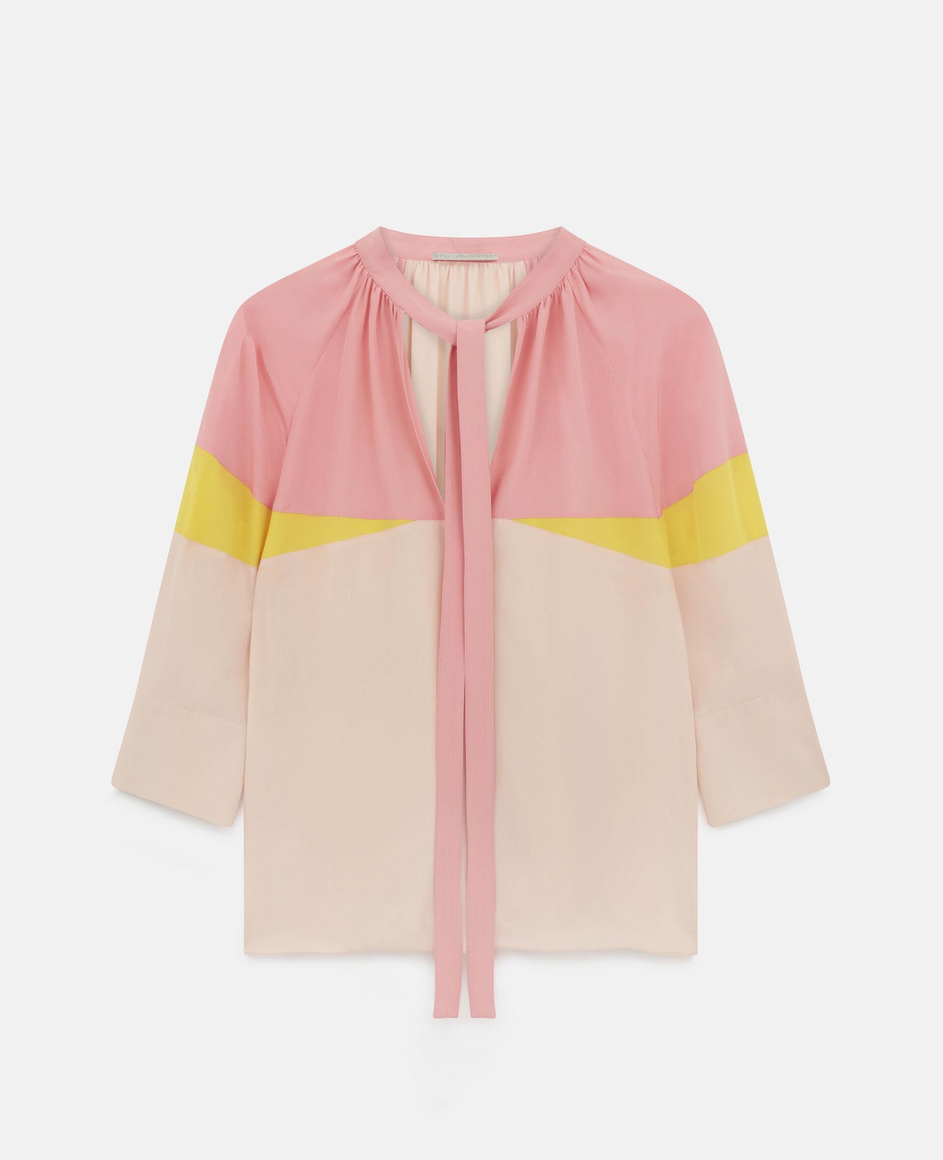 Sophia Silk Top-Pink-large image number 0