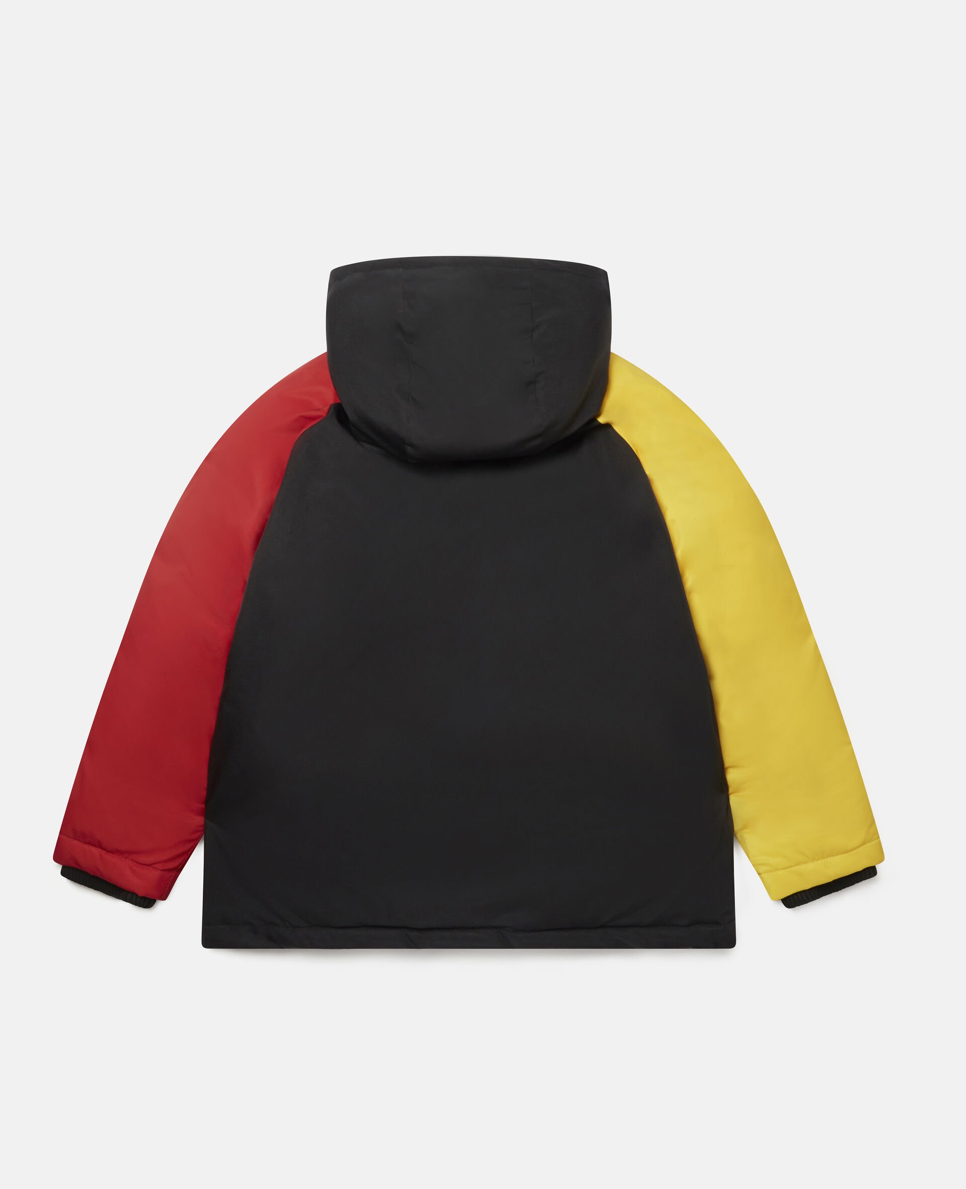 Colourblock Puffer Jacket-Multicolour-large image number 3