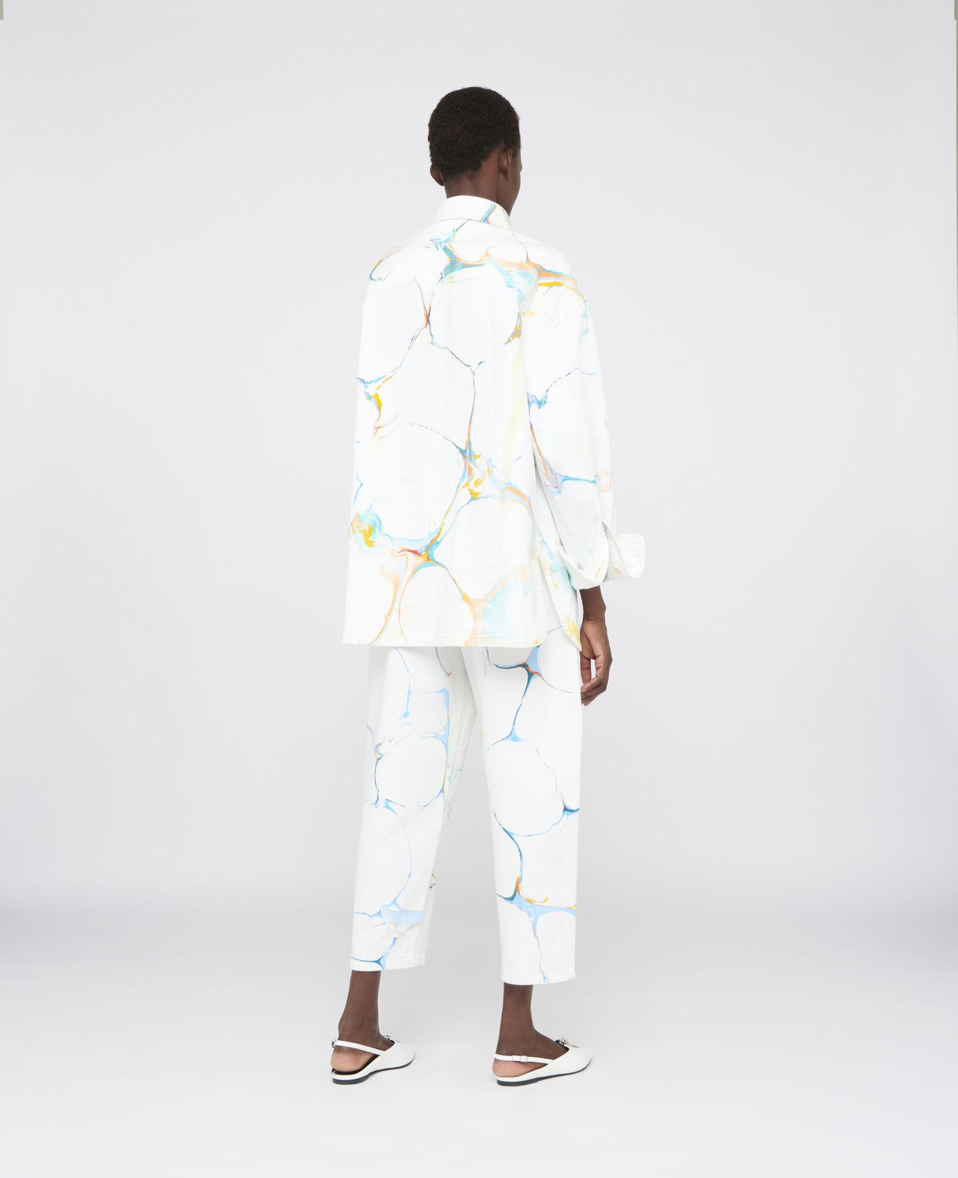 牛仔衬衫式夹克 -Multicolored-large image number 2