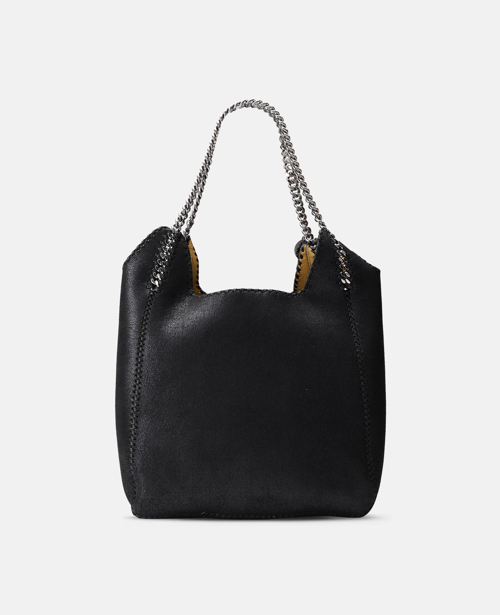 Large Falabella Tote Bag-Black-large image number 2