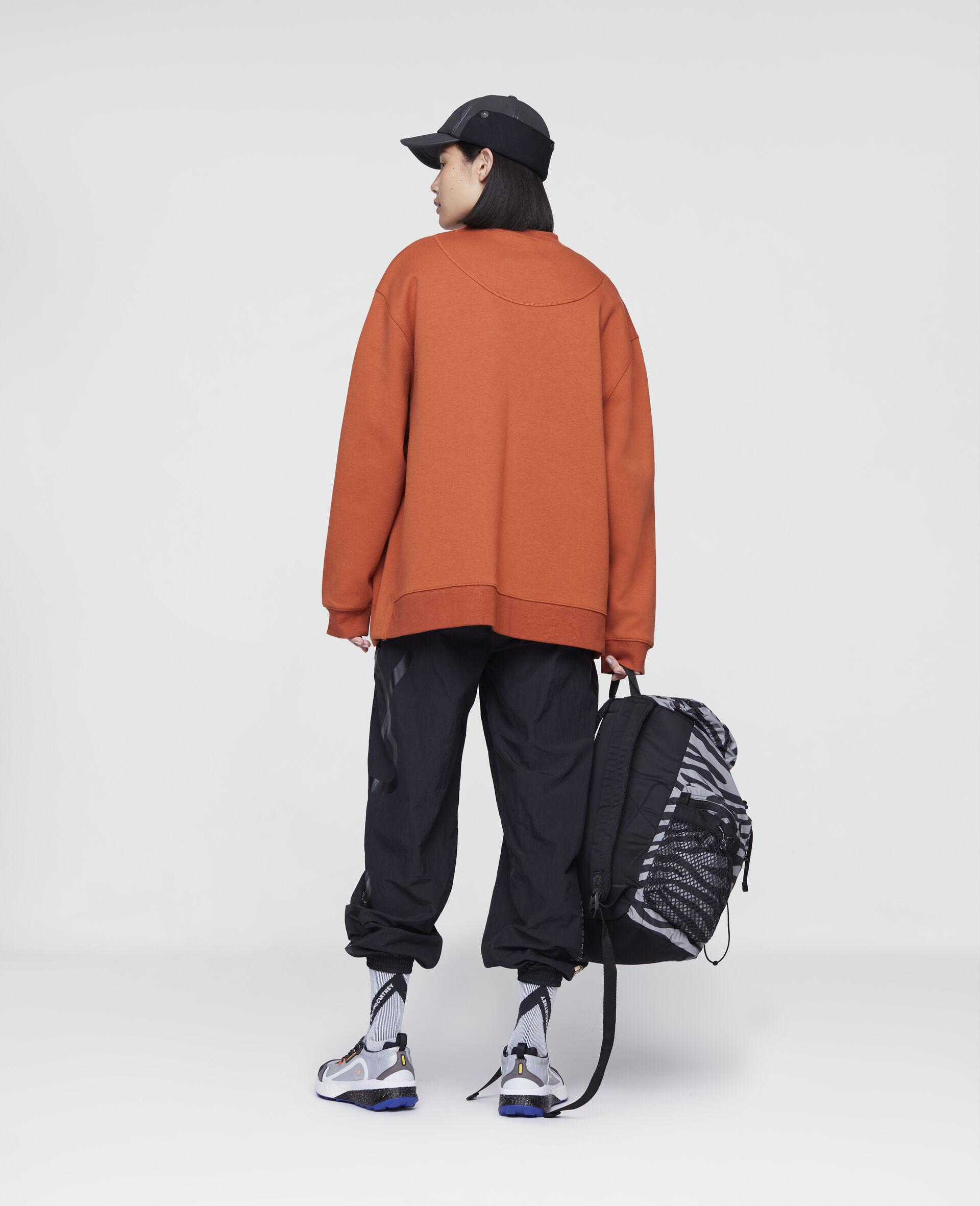 Burnt Brick Training Sweatshirt-Orange-large image number 2