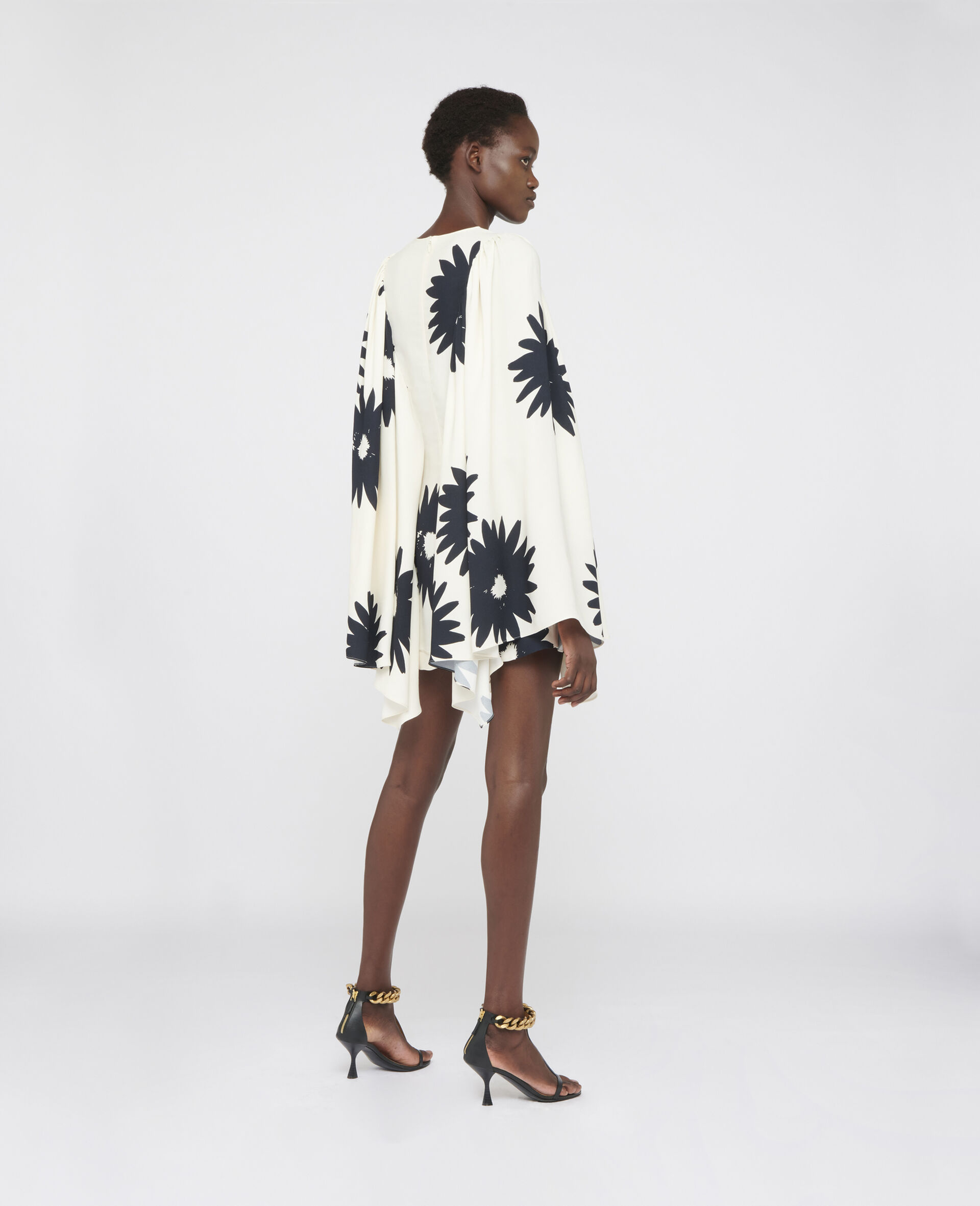 Luciana Floral Dress-White-large image number 2