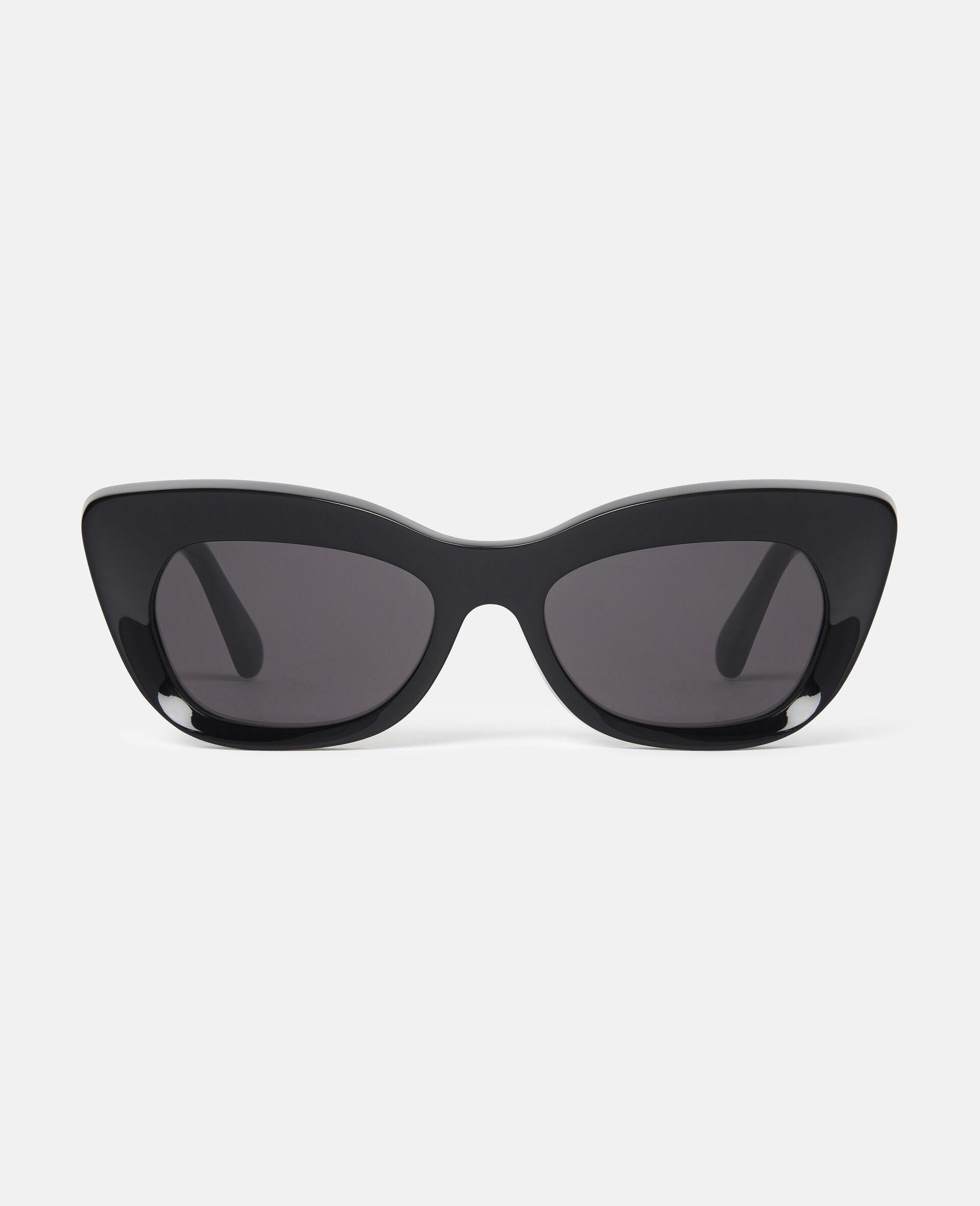 Cat-Eye Sunglasses-Black-large image number 0