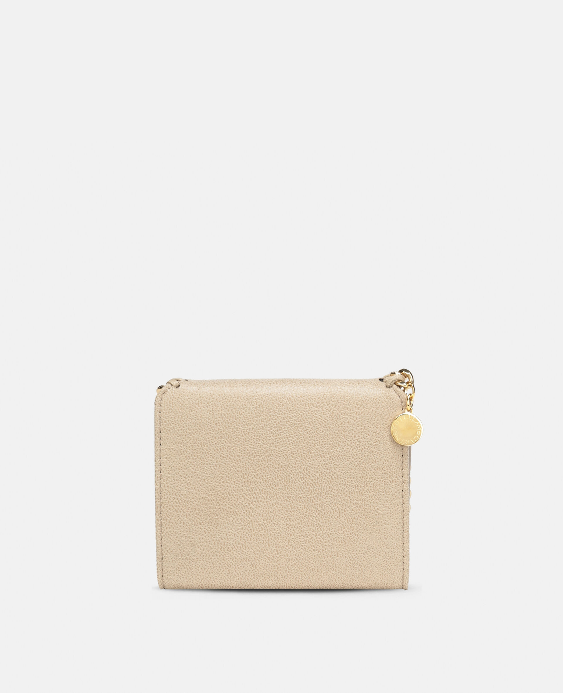 Falabella Small Flap Wallet-Beige-large image number 2