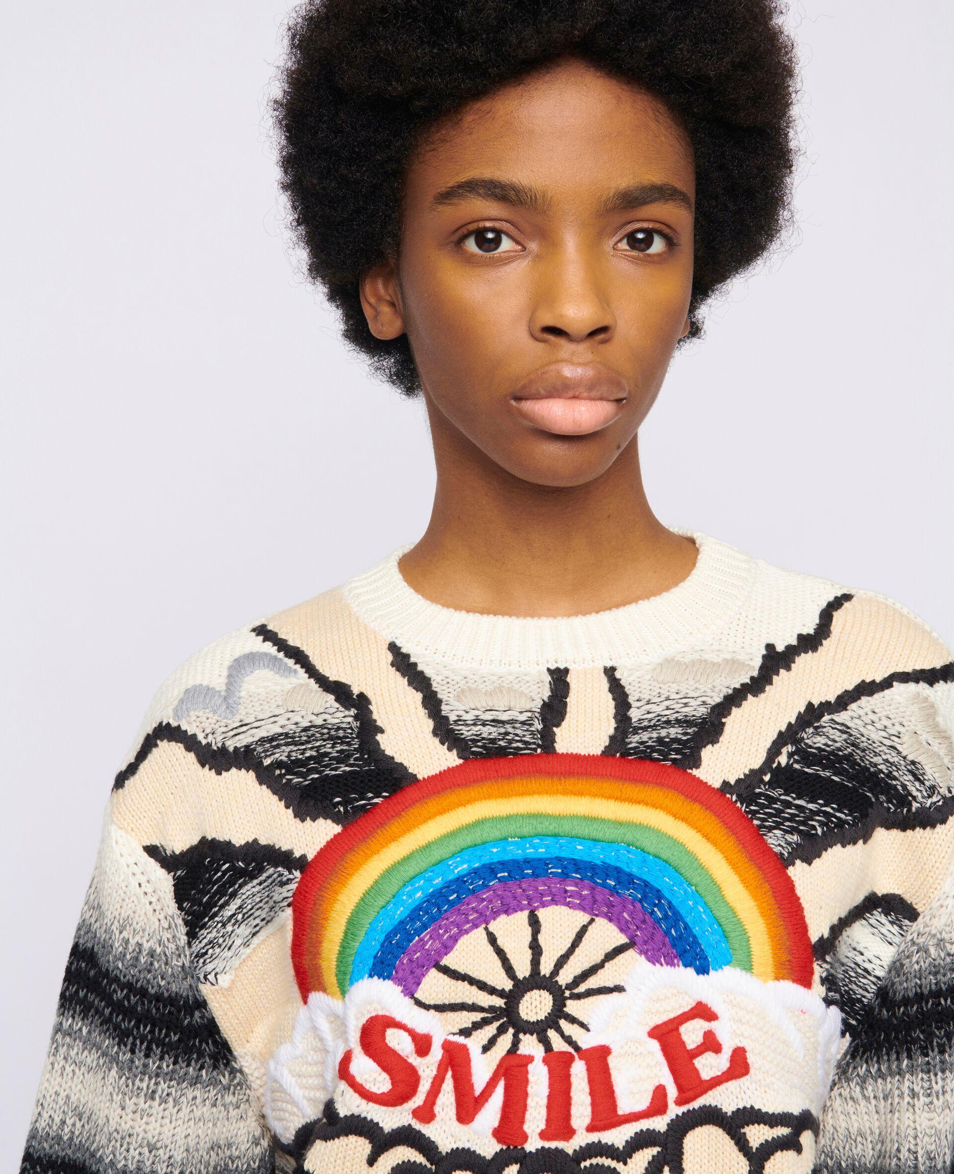 Kind Intarsia Sweater -Multicolour-large image number 3
