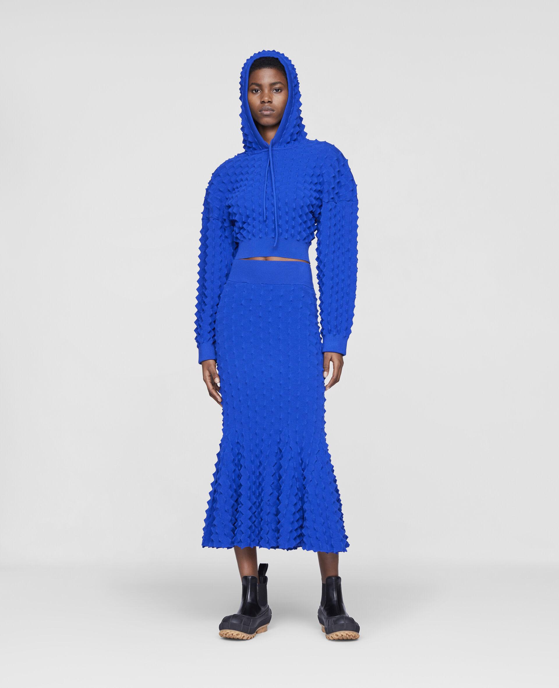 Light Popcorn Skirt-Blue-large image number 1