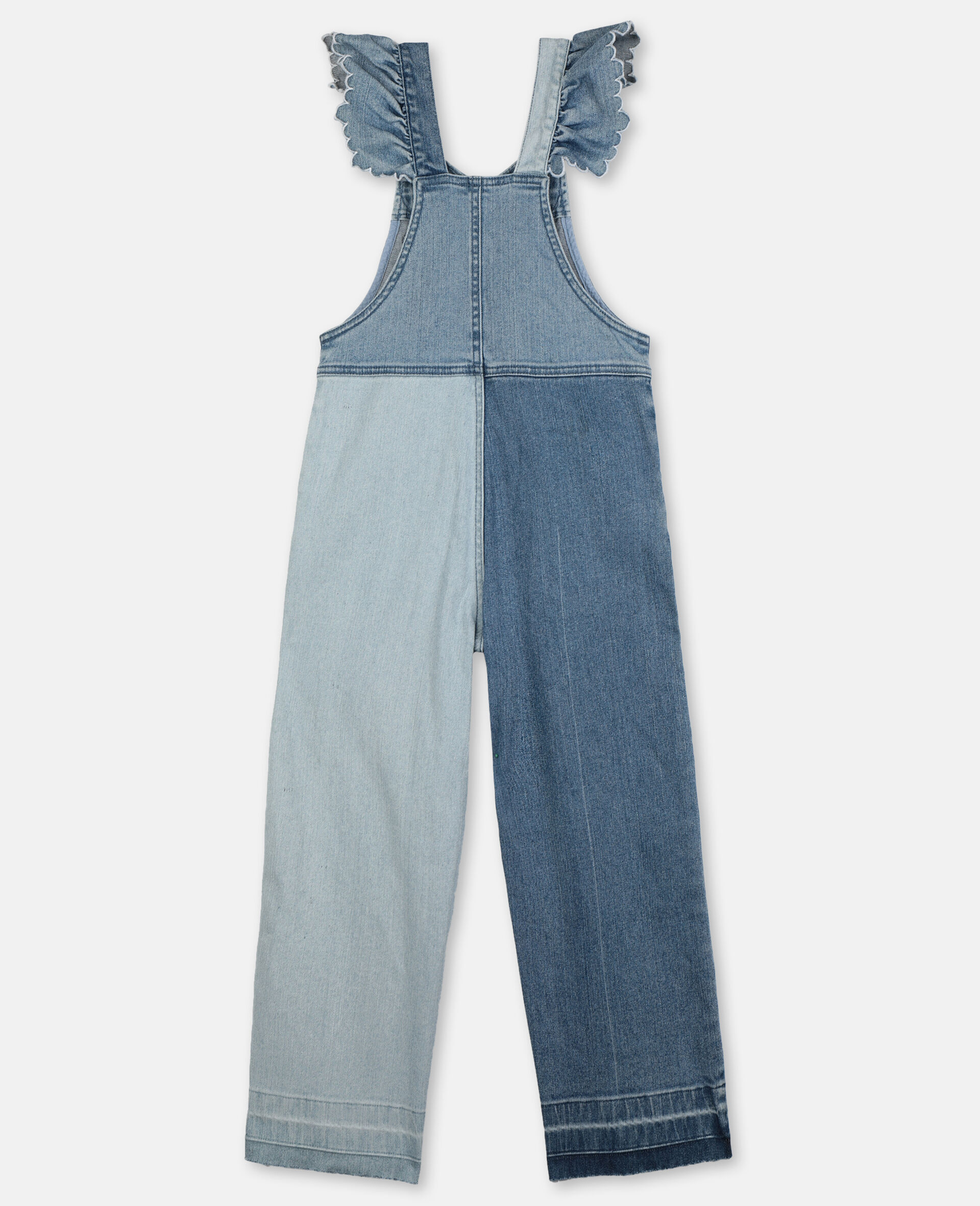 Butterfly Light Denim All-In-One-Blue-large image number 3