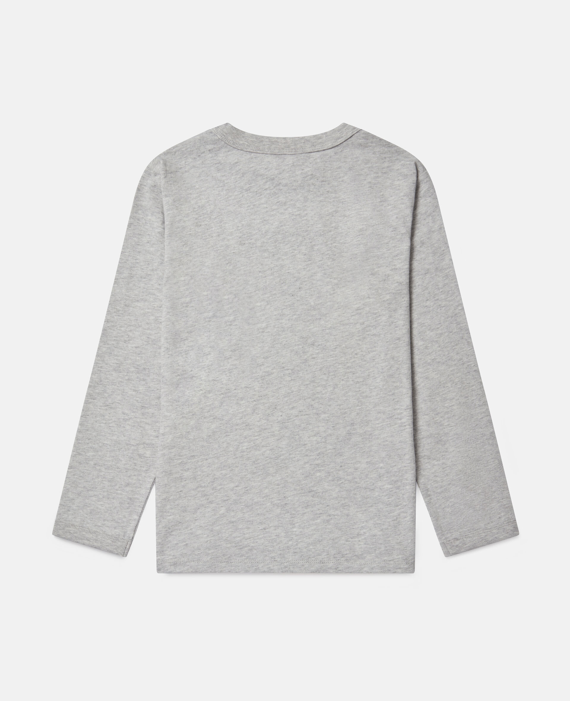 Oversized 'Eat My Dust' Top-Grey-large image number 3