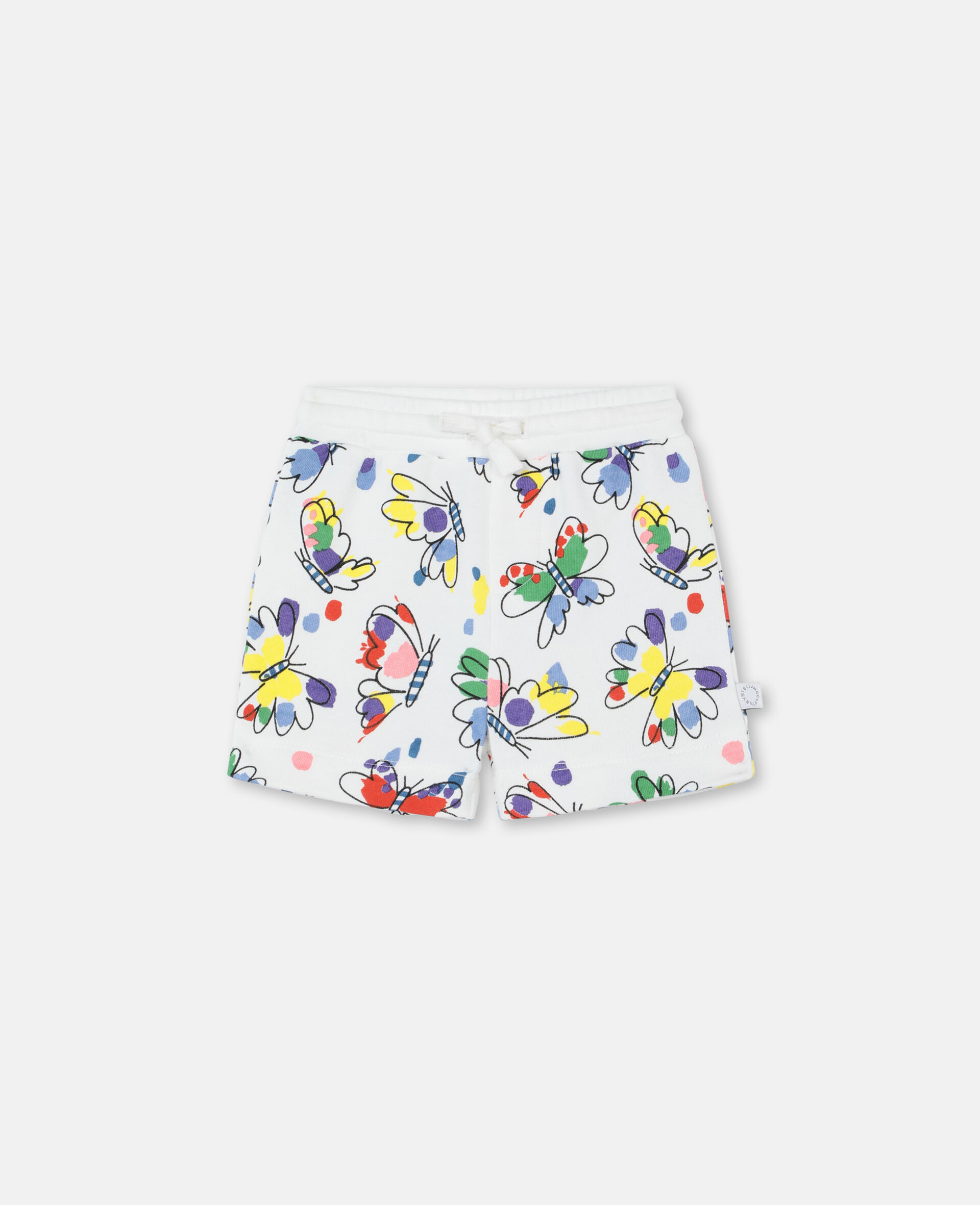 Baby Butterfly Cotton Shorts-Multicoloured-large image number 0