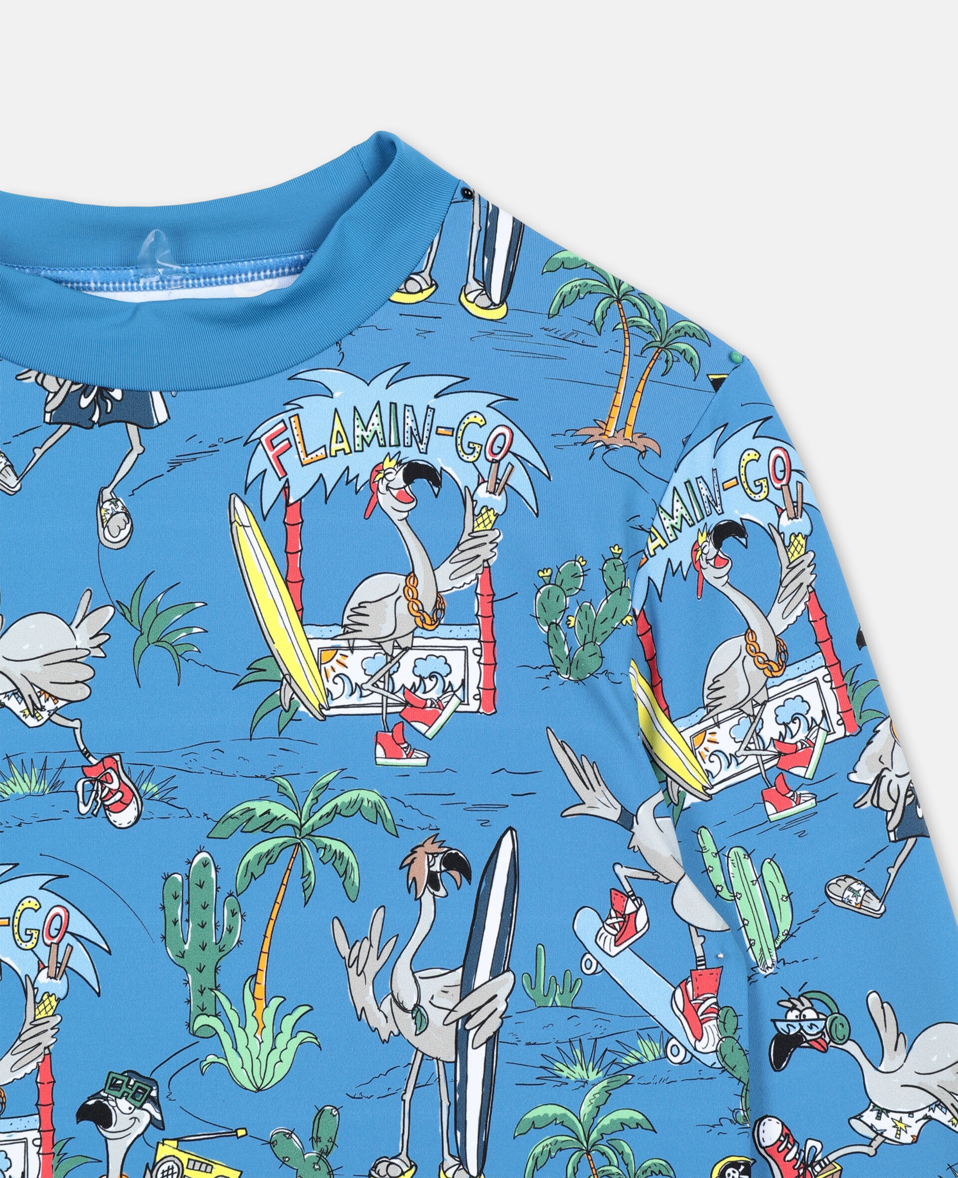 Flamingo Land Swim Set -Blue-large image number 2