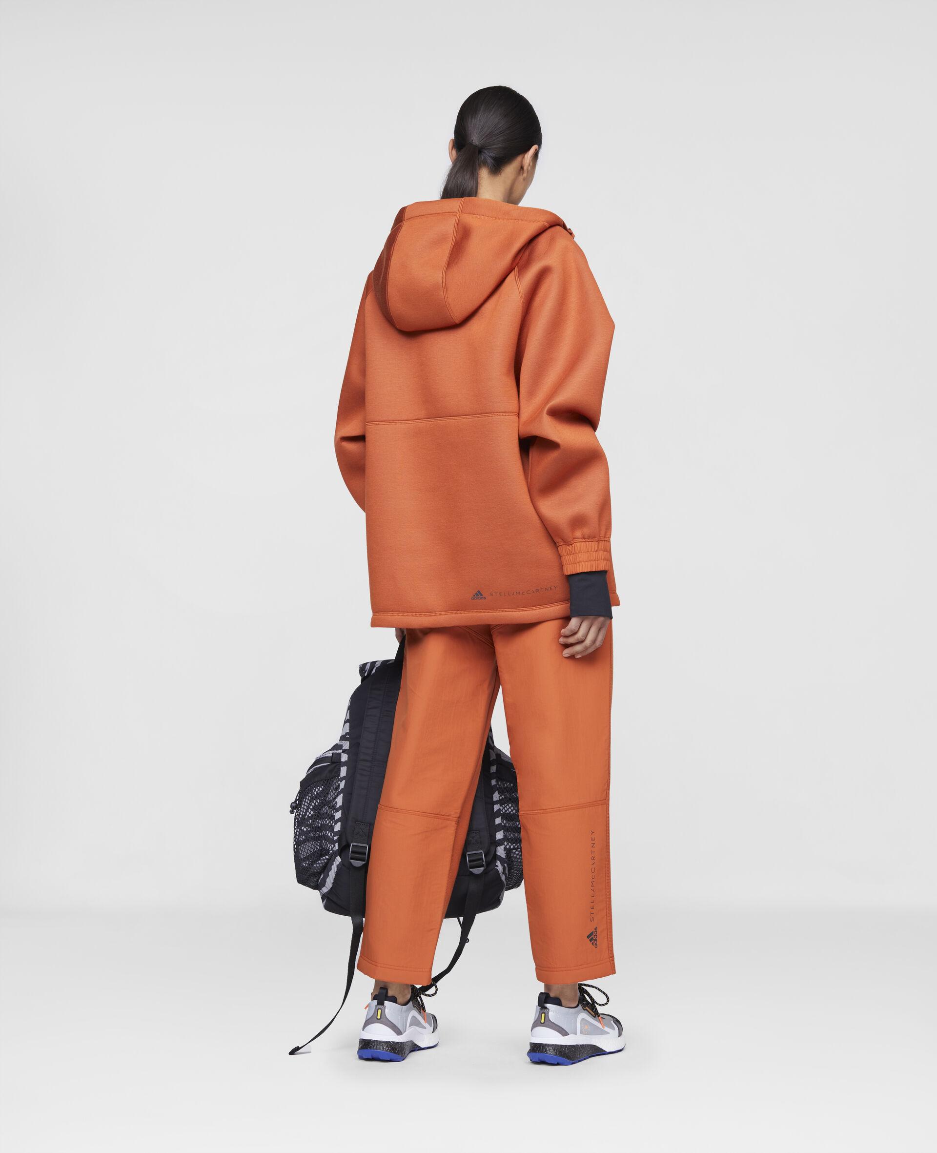 Sweat de sport à capuche orange-Orange-large image number 2