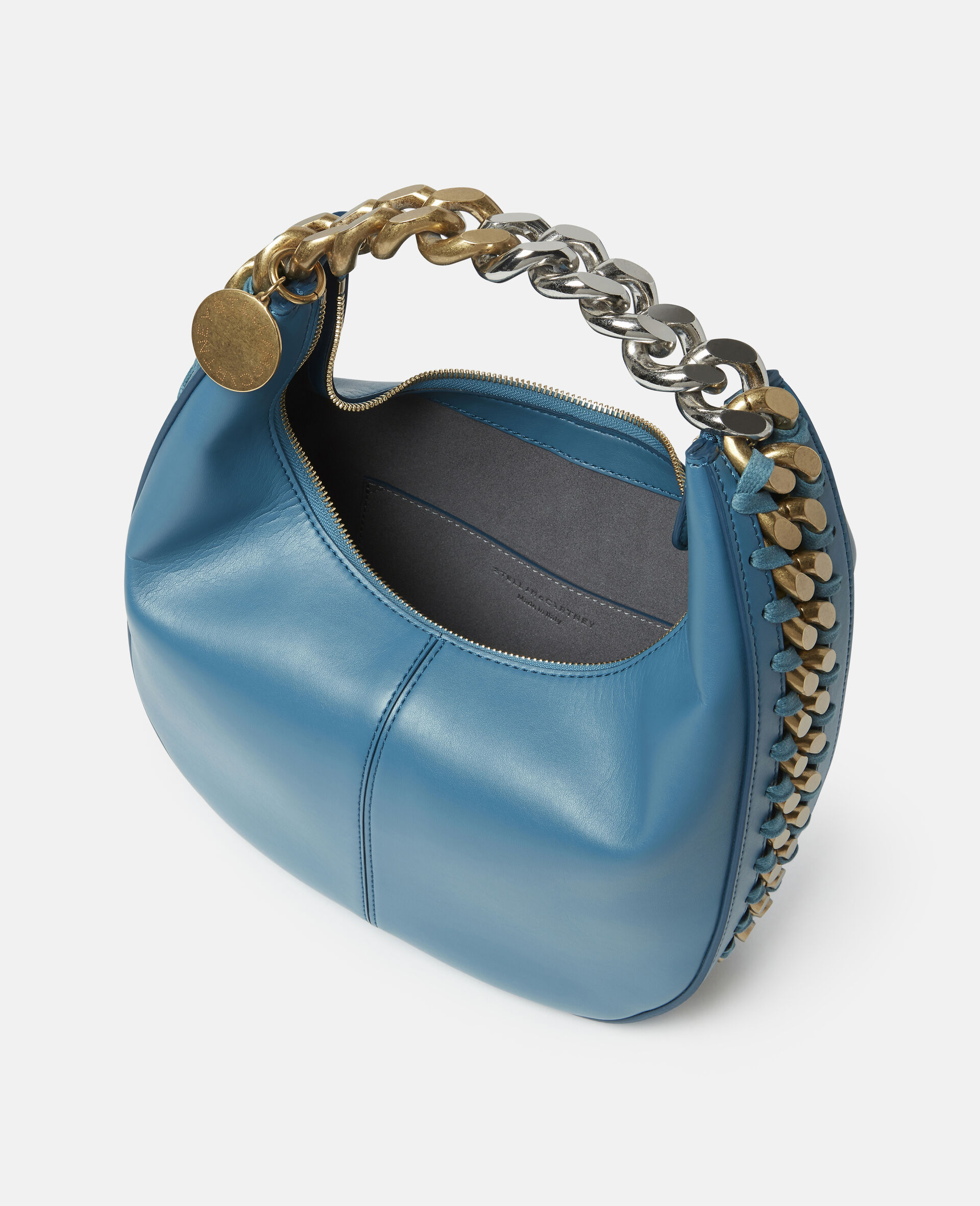 Frayme Small Zipit Shoulder Bag-Black-large image number 3