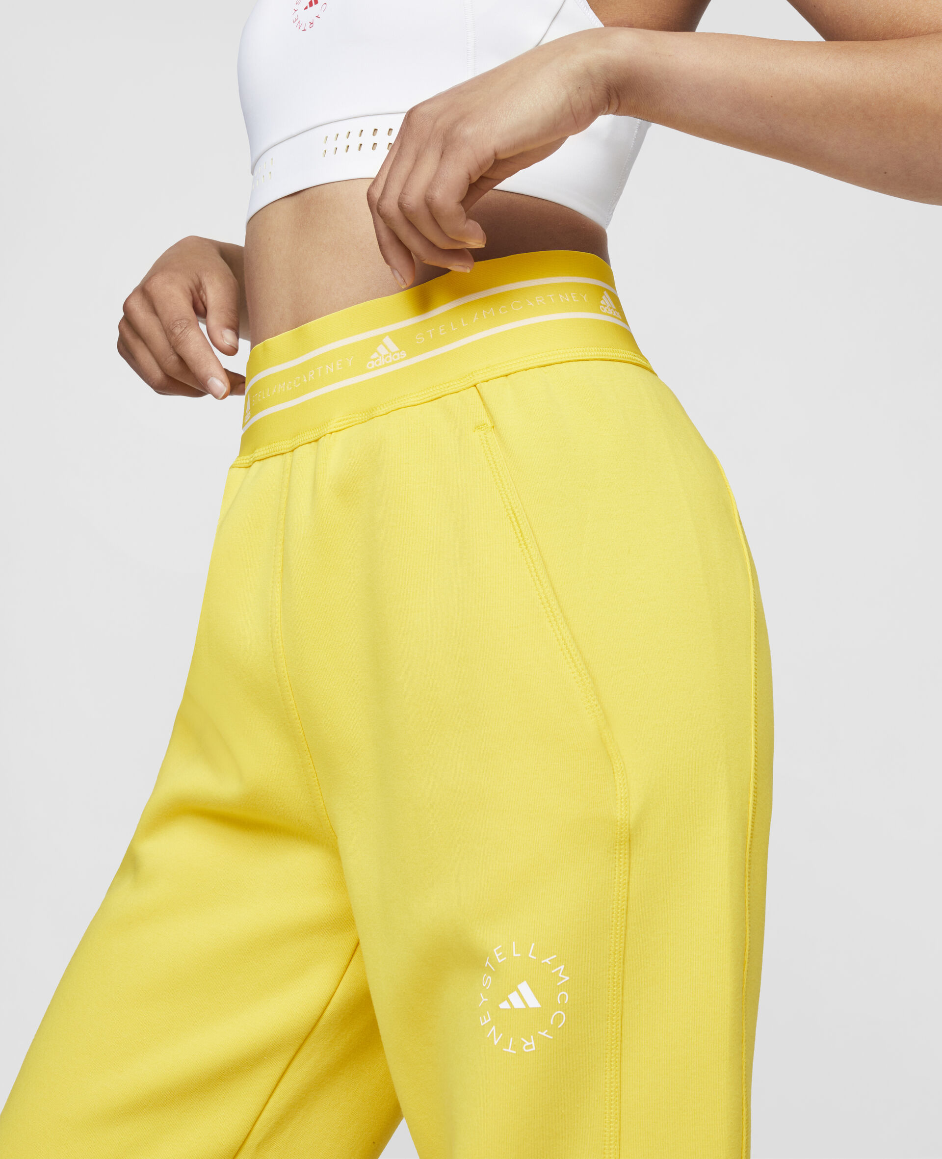 Yellow Training Sweatpants-Yellow-large image number 3