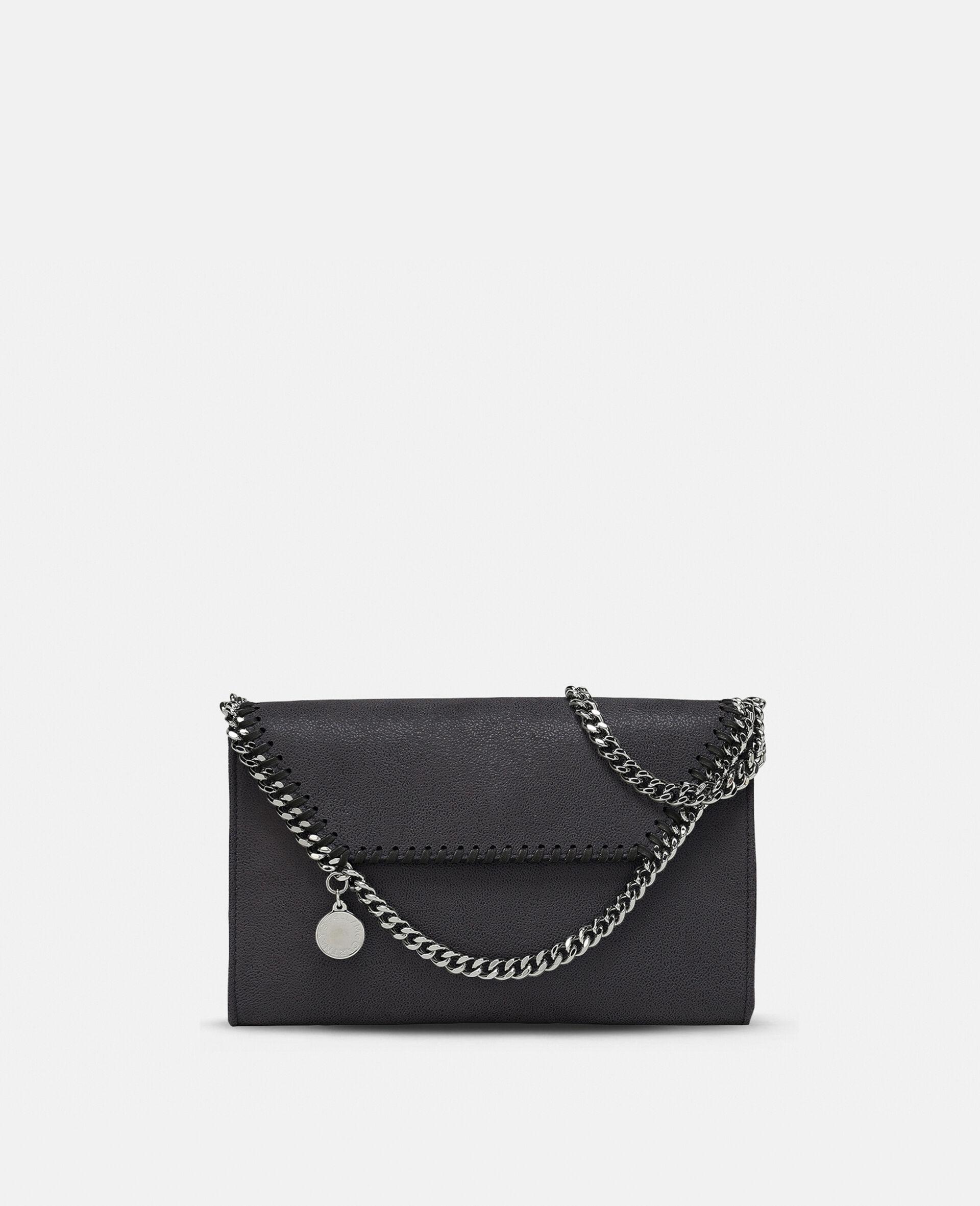 Mini sac porté épaule Falabella-Gris-large image number 0