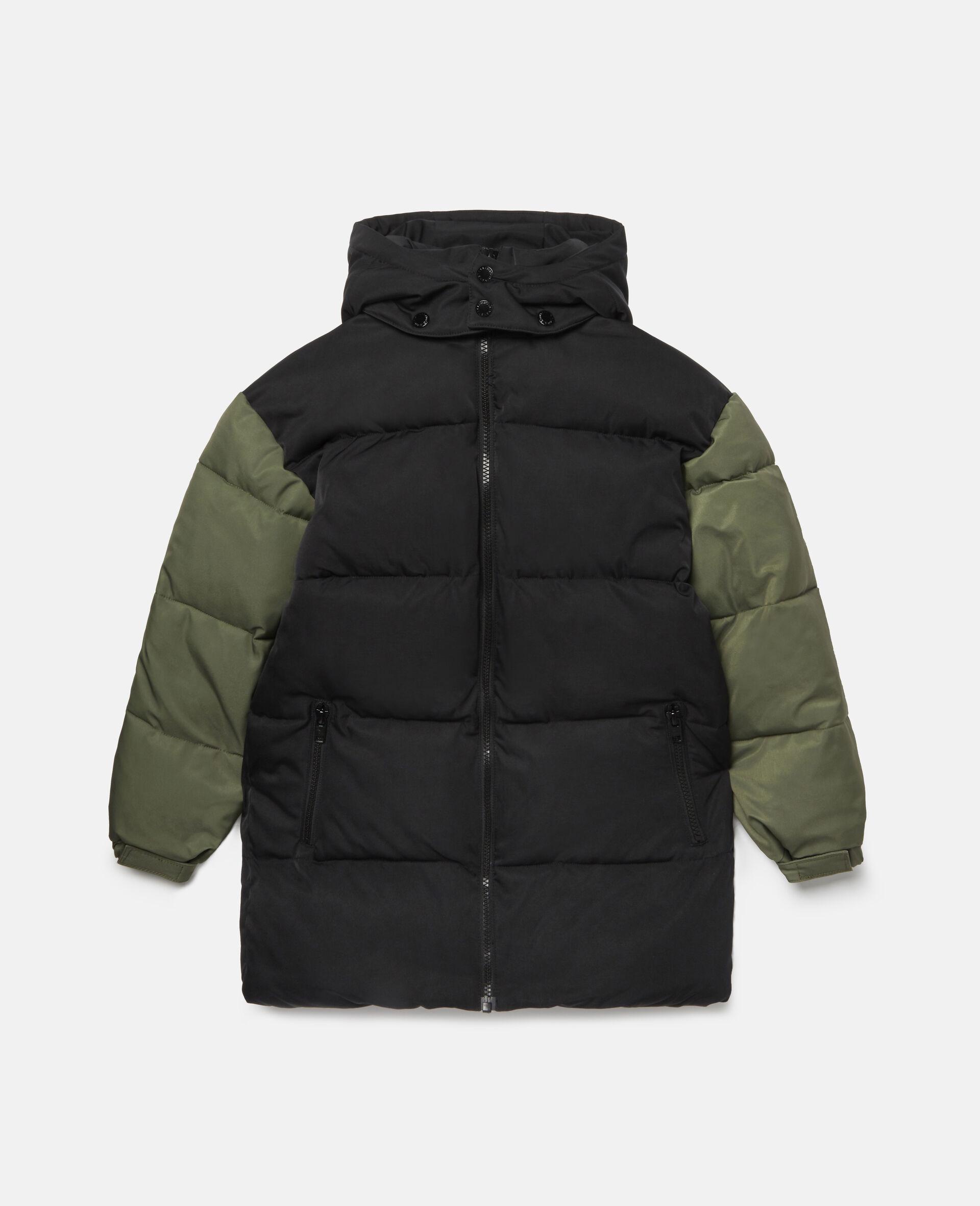 Oversized Puffer Jacket-Black-large image number 0