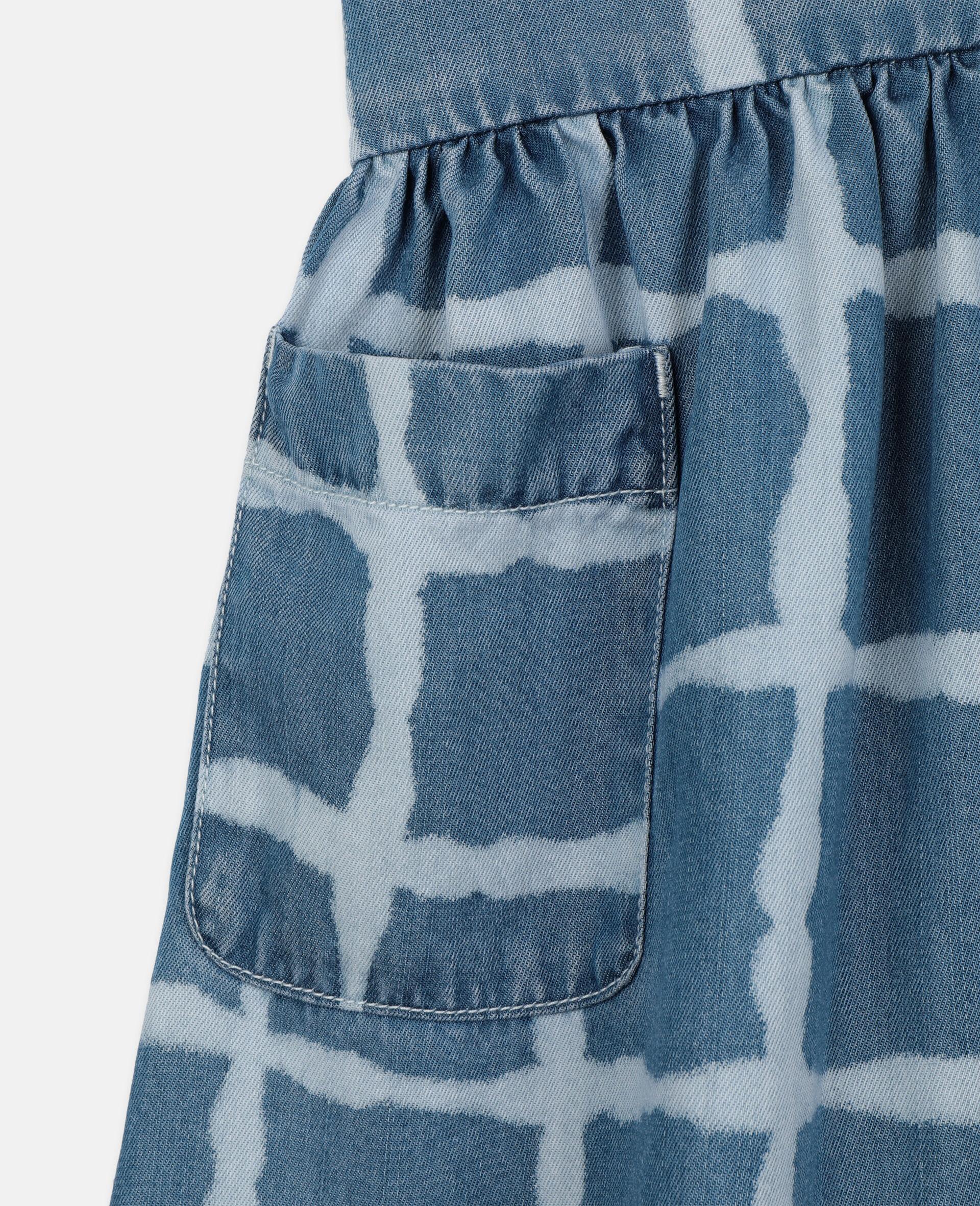 Tencel Denim Dress-Multicolour-large image number 2
