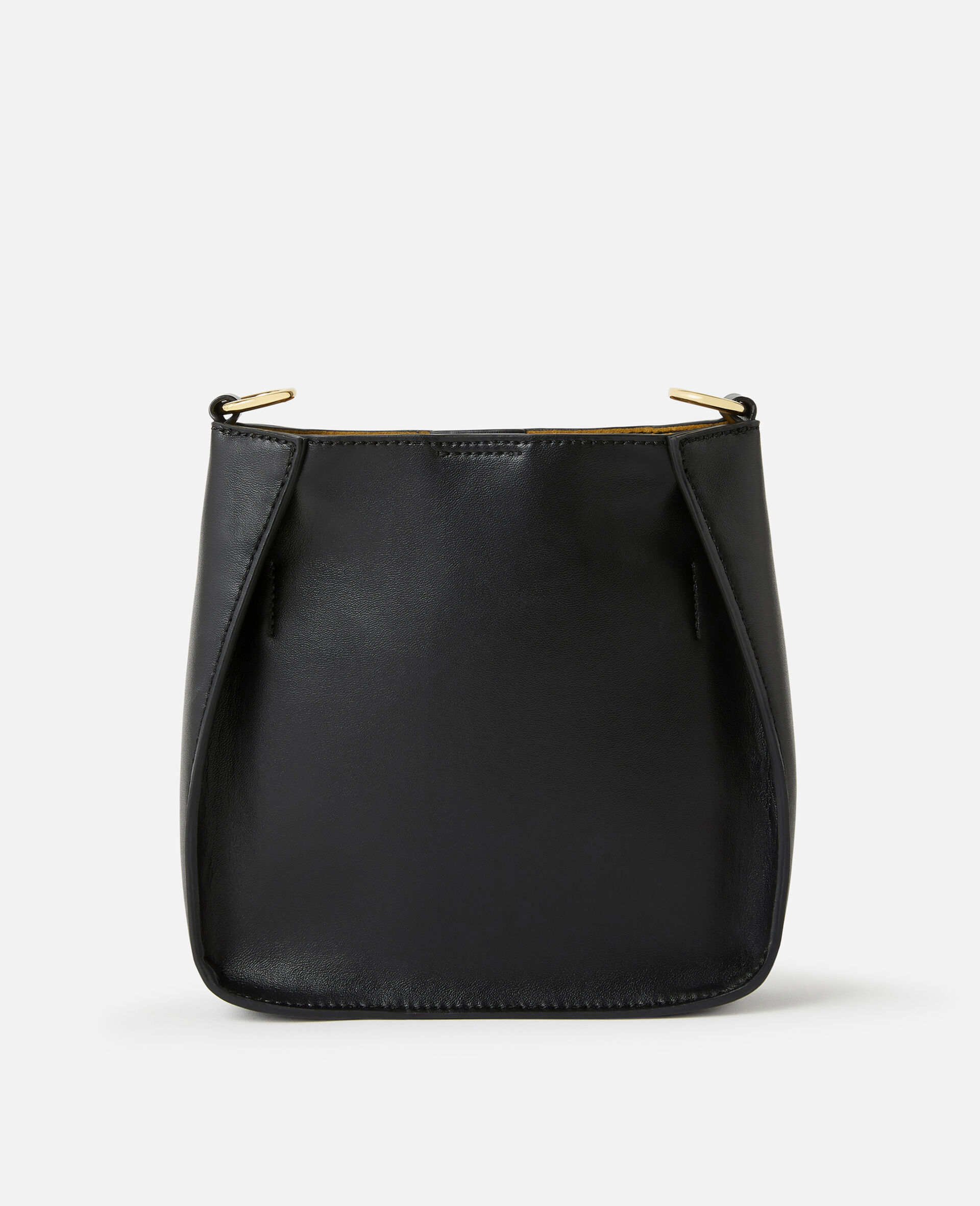 Mini Stella Logo Shoulder Bag -Black-large image number 2