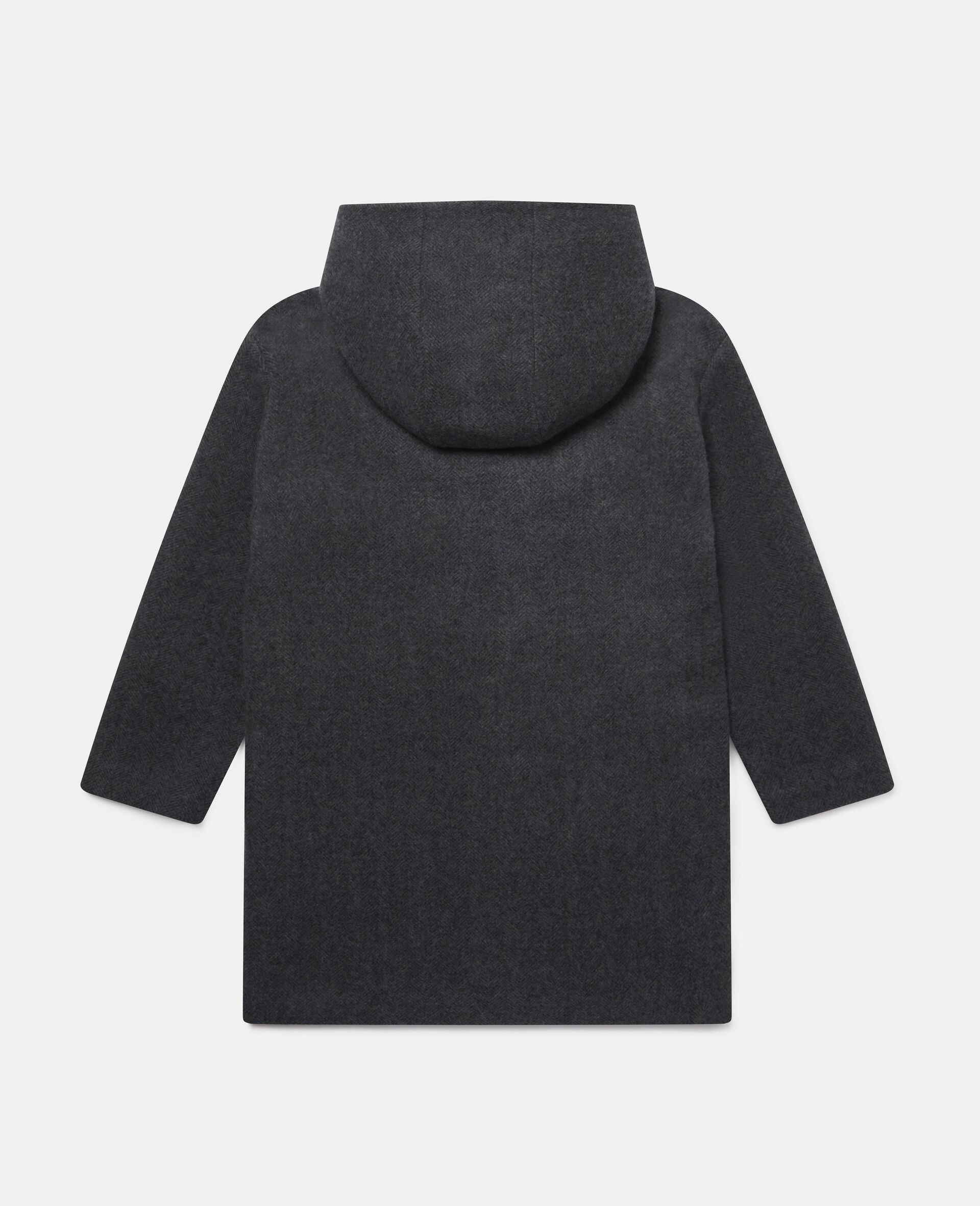 Pencils Toggle Wool Coat -Grey-large image number 3