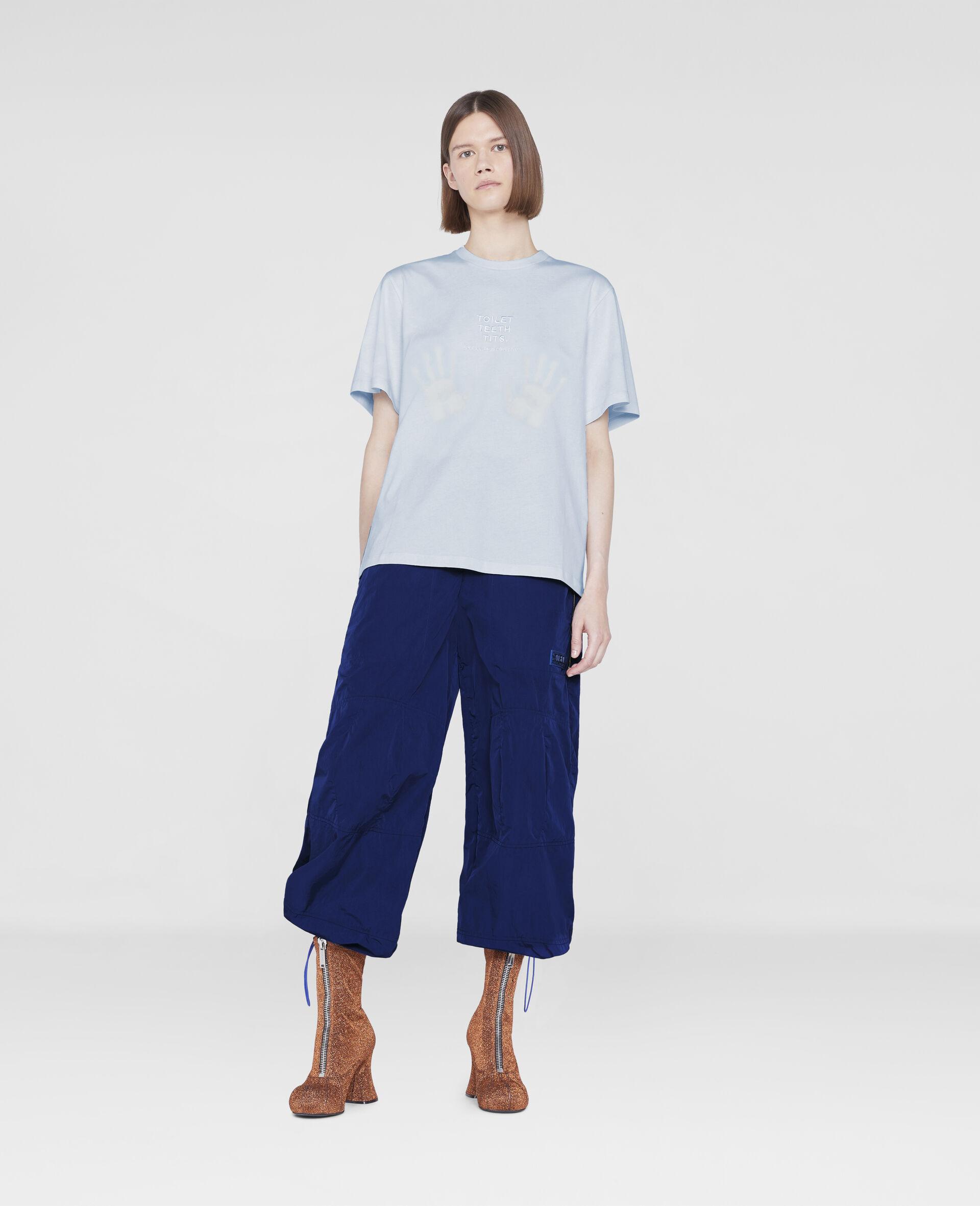 BCA 2021: Toilet, Tits, Teeth (TTT) T-shirt-Blue-large image number 1