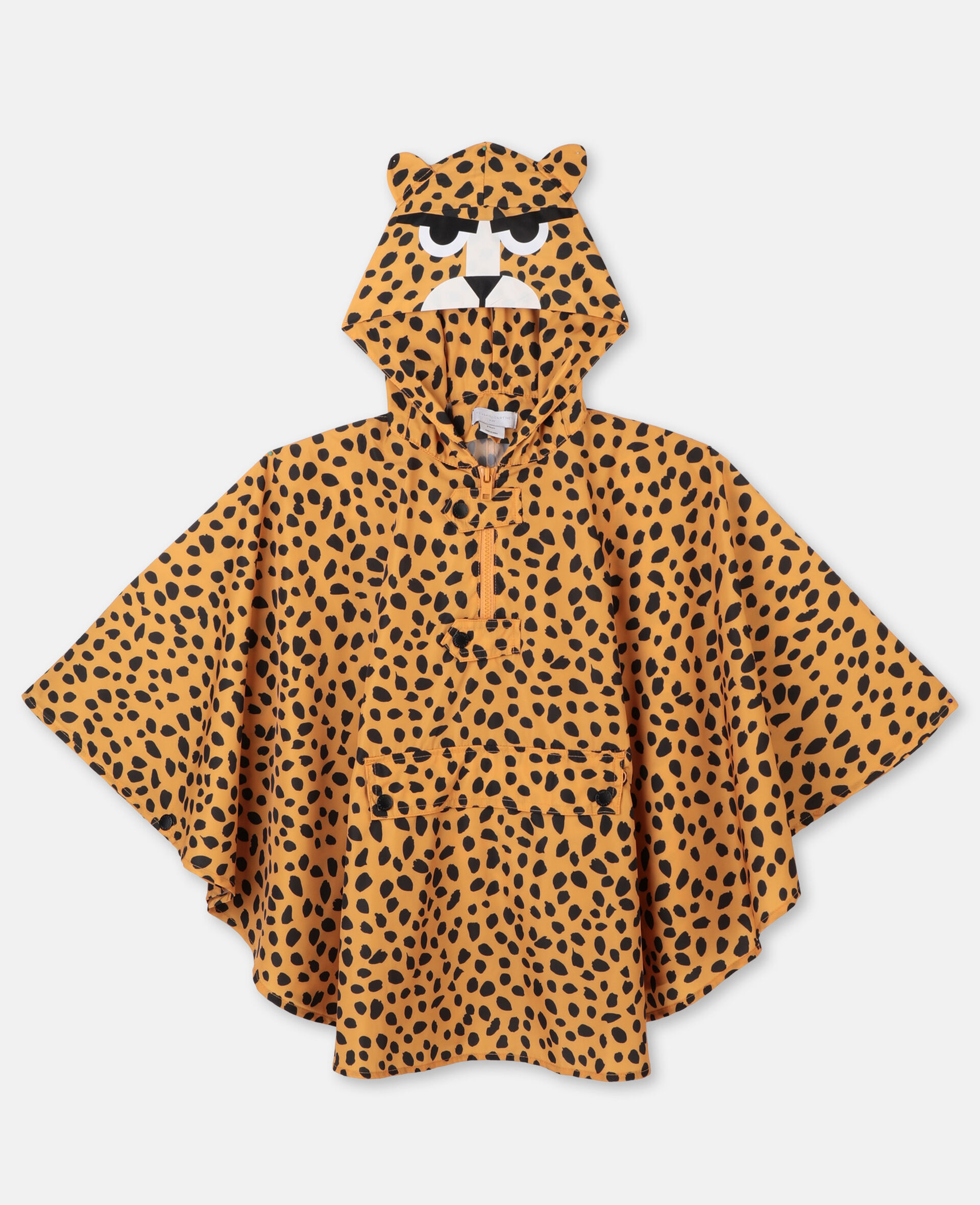 Cheetah Dots Cape -Multicolour-large image number 0