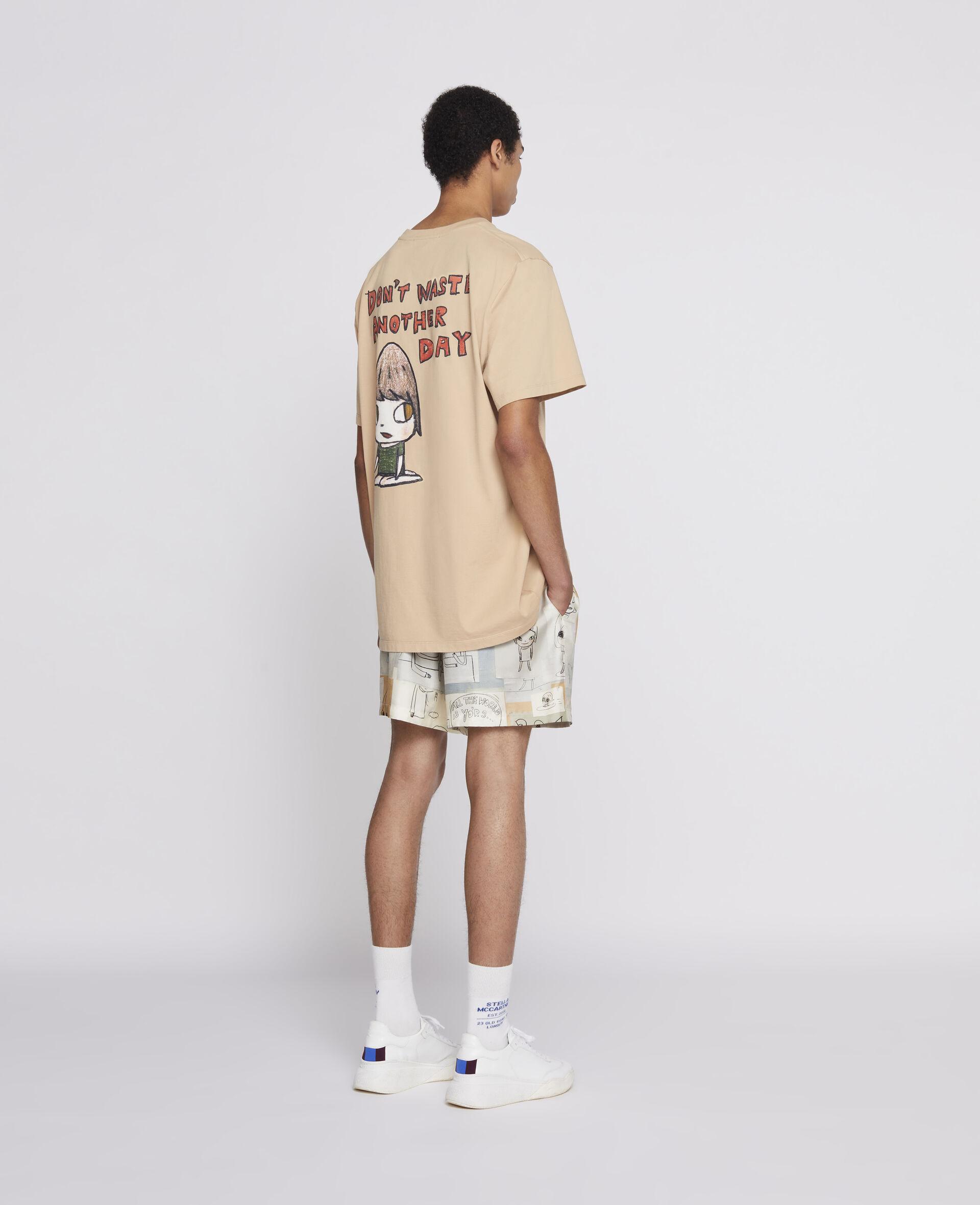 Nara Organic Cotton T-Shirt -Brown-large image number 2