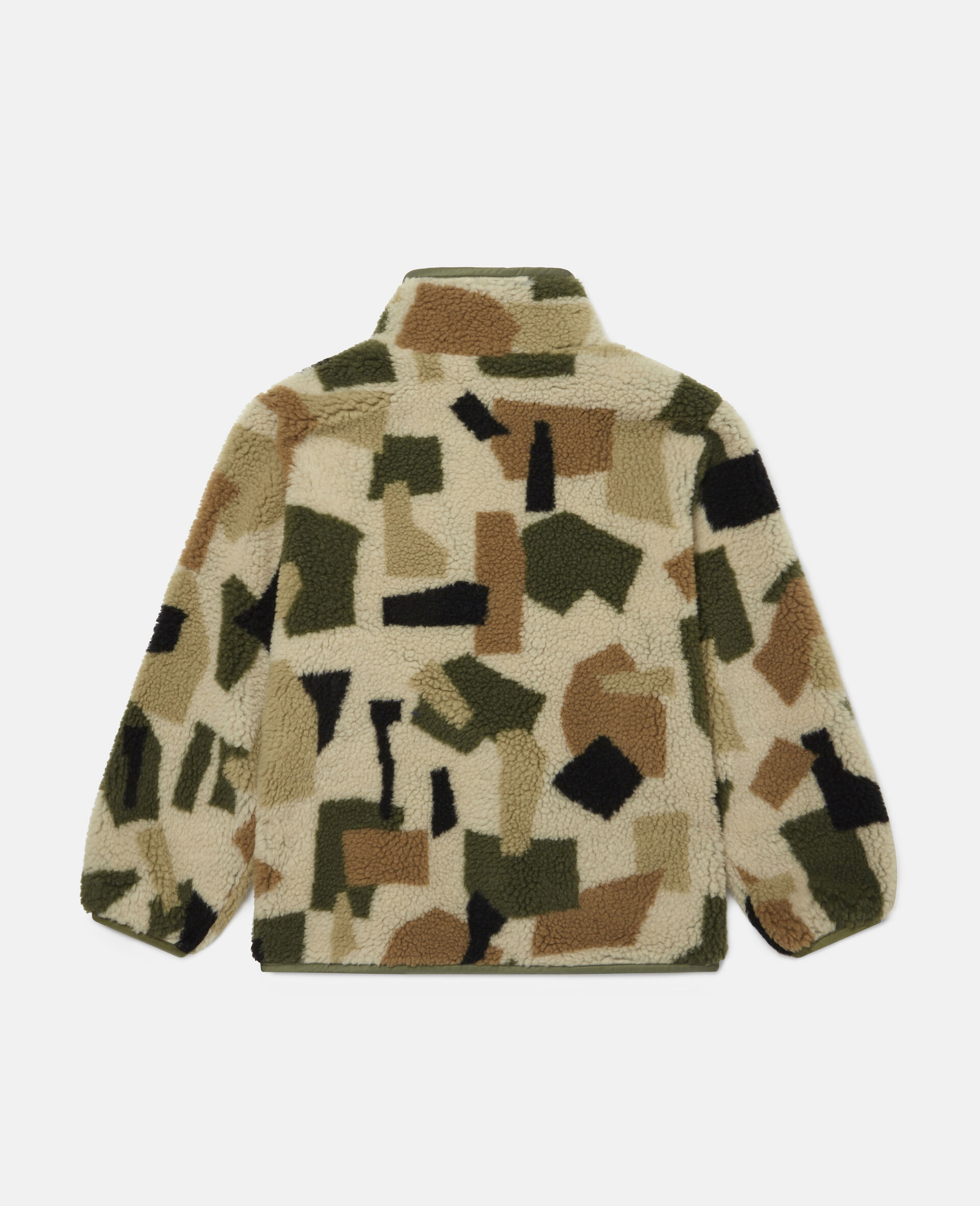 Giacca in Teddy Camouflage Militare-Fantasia-large image number 3