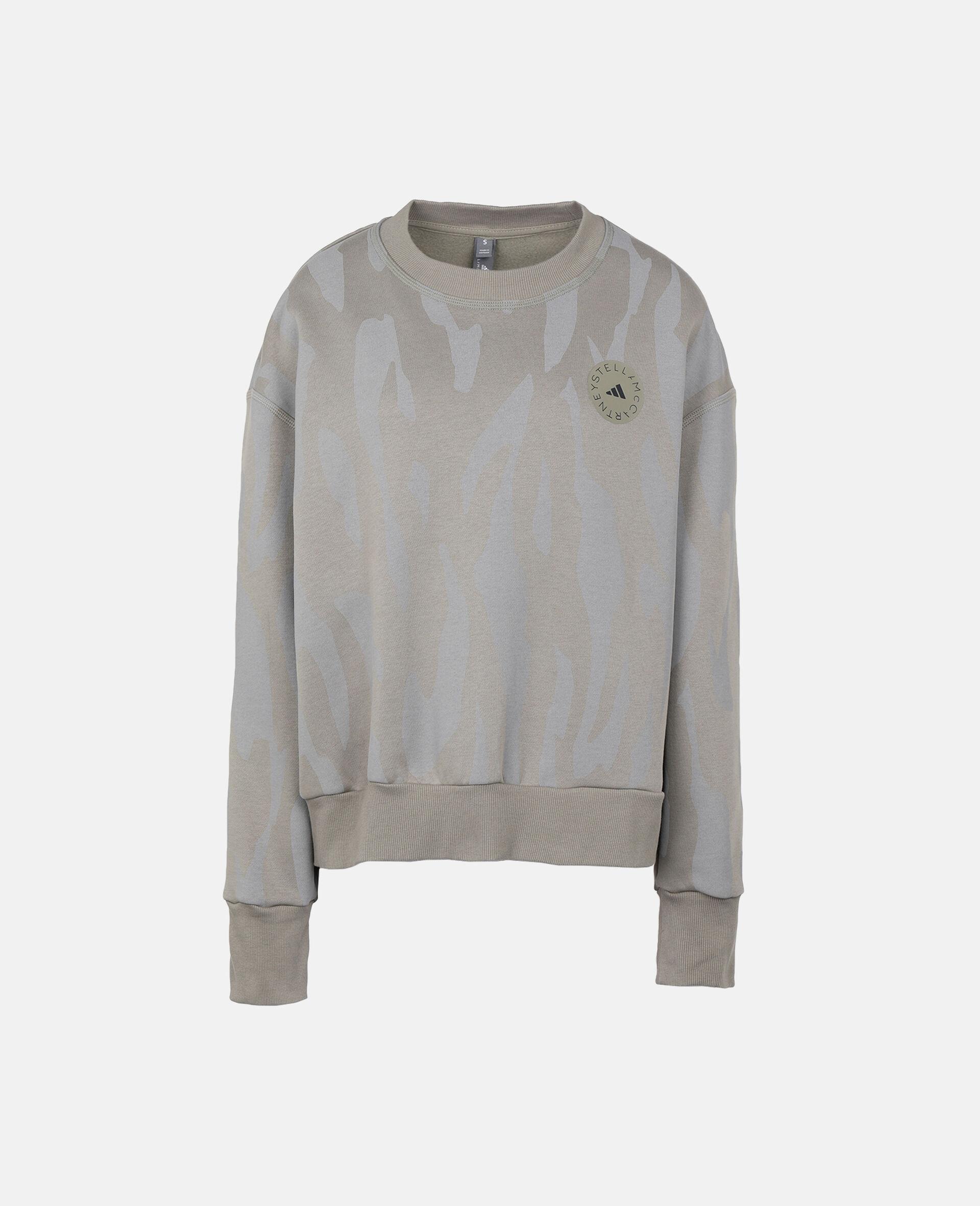 Grey Training Sweatshirt -Grey-large image number 0