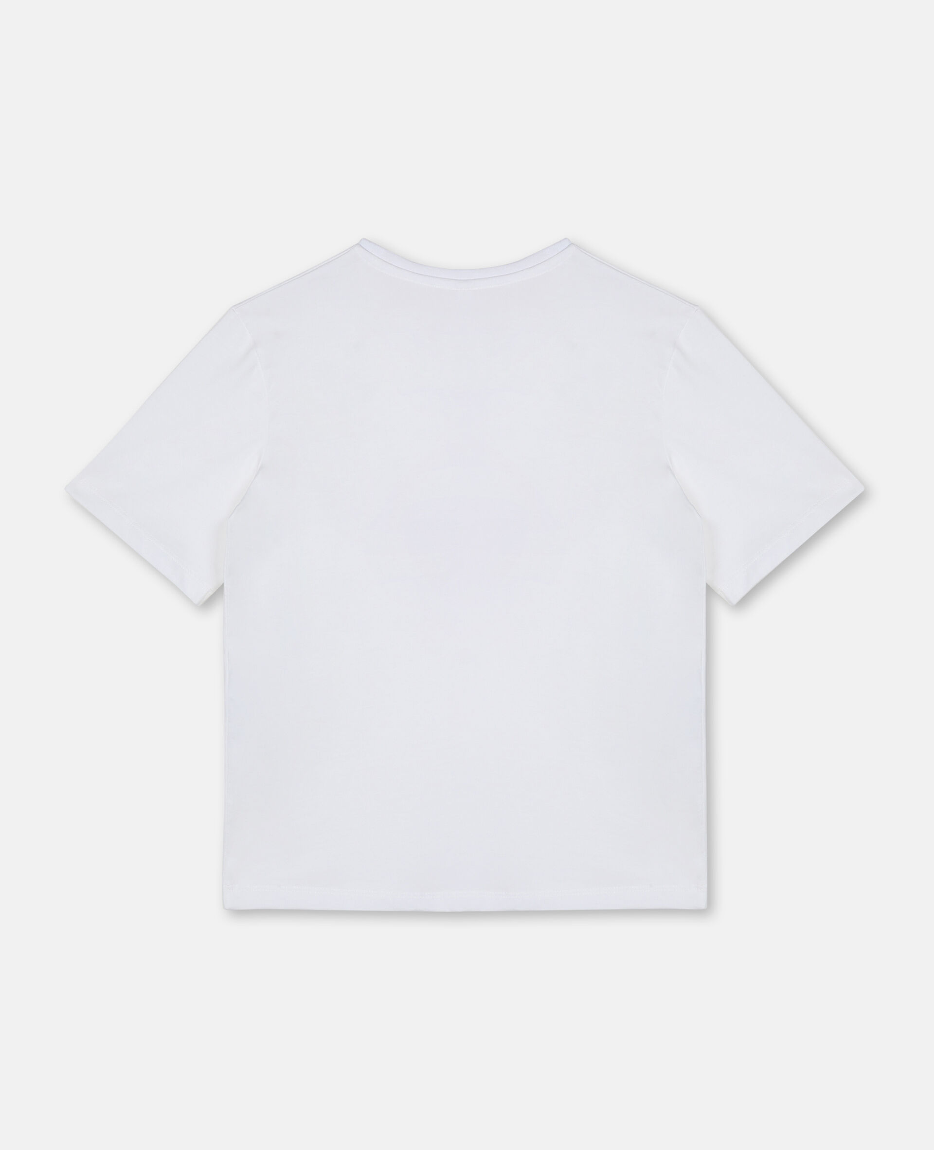Extra Cool Oversize Cotton T-shirt -White-large image number 3