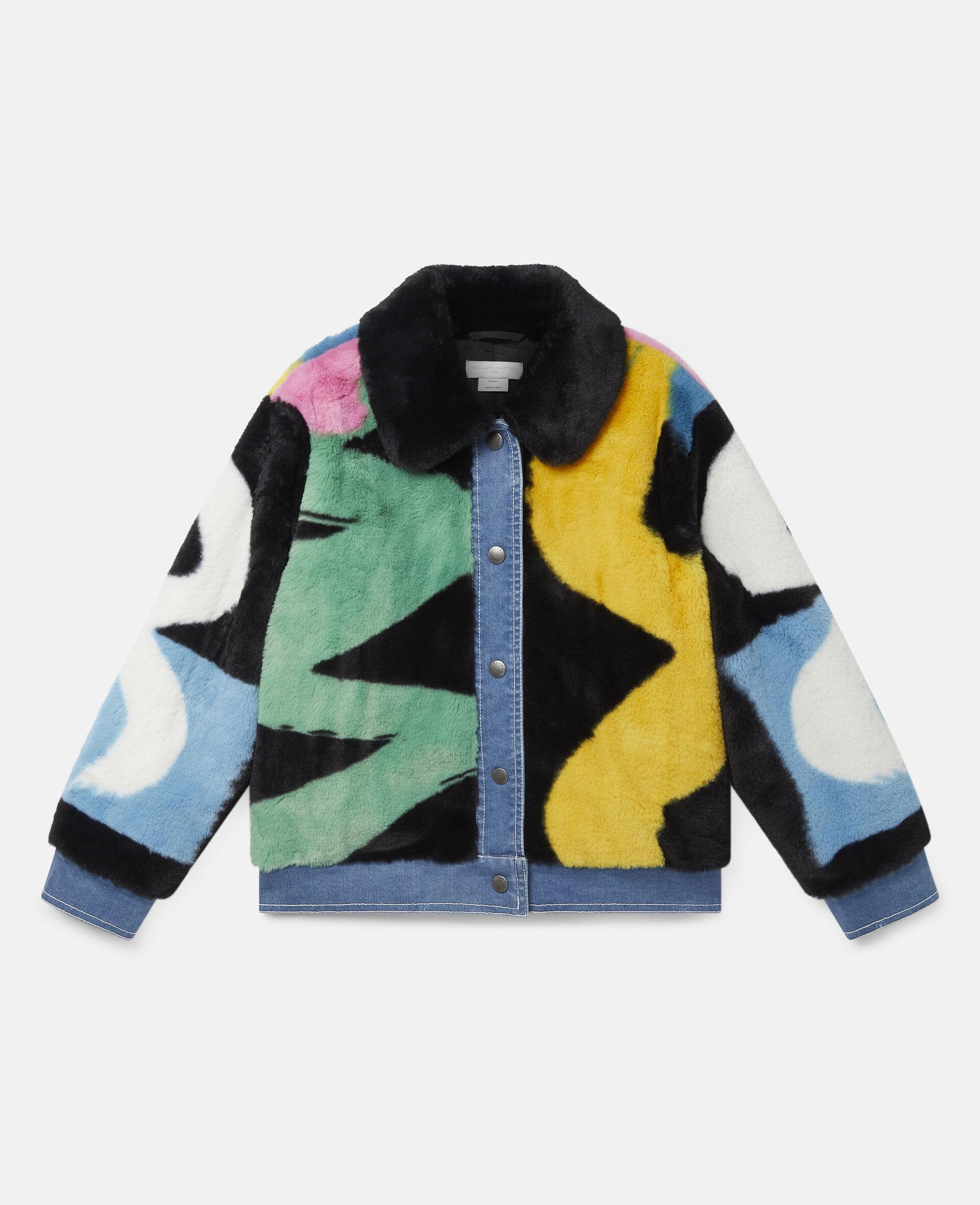 FFF & Denim Jacket -Multicolour-large image number 0