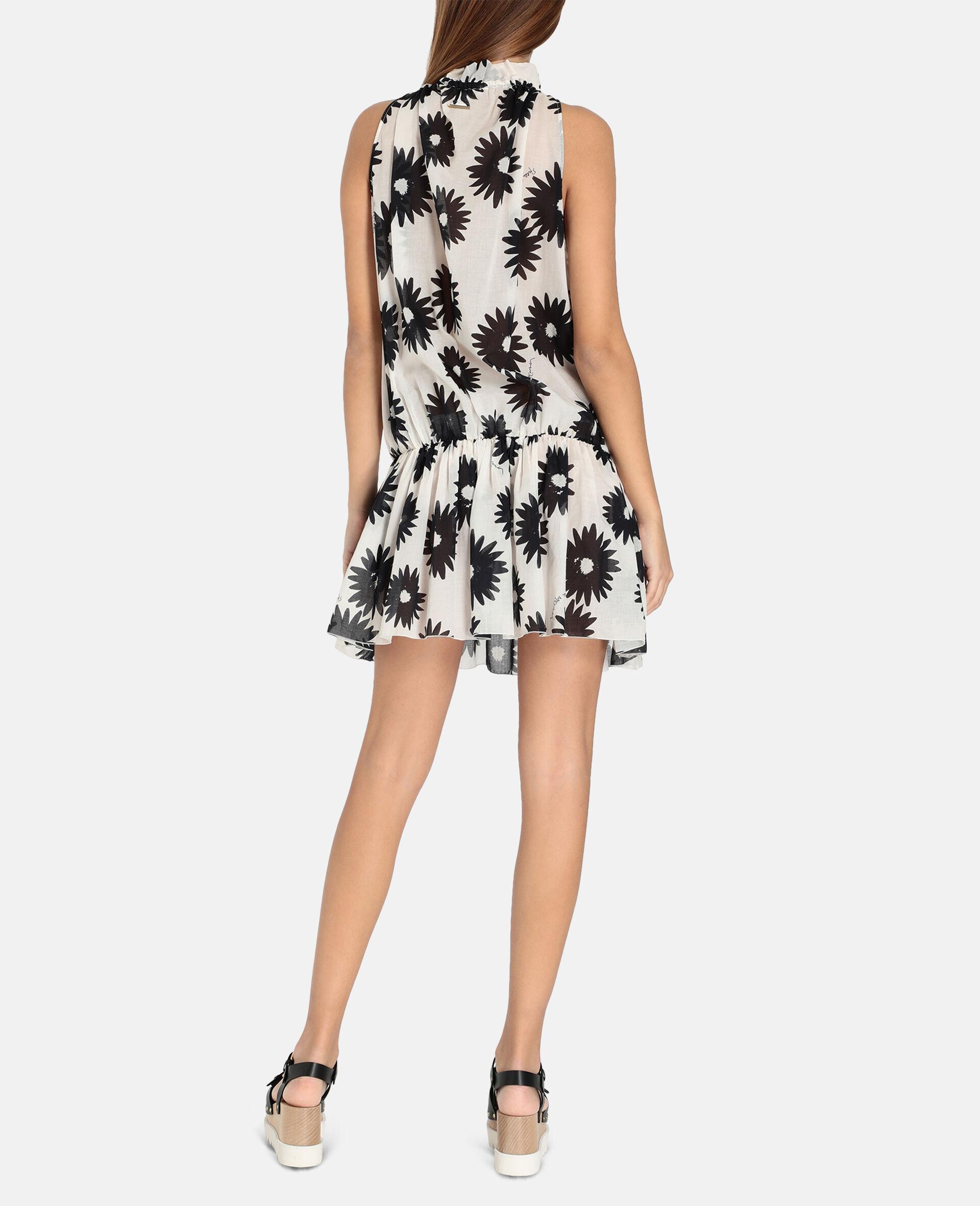 Linda Floral Print Short Dress-Multicolour-large image number 2