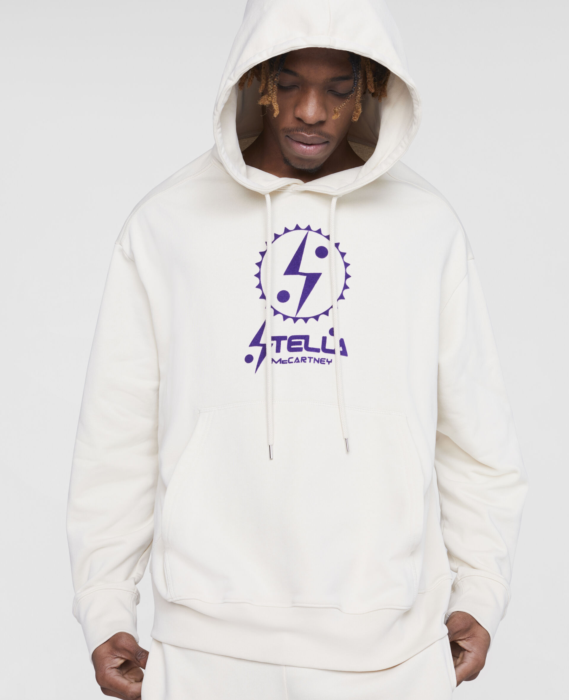 Tom Tosseyn Stella Logo Hoodie-White-large image number 4