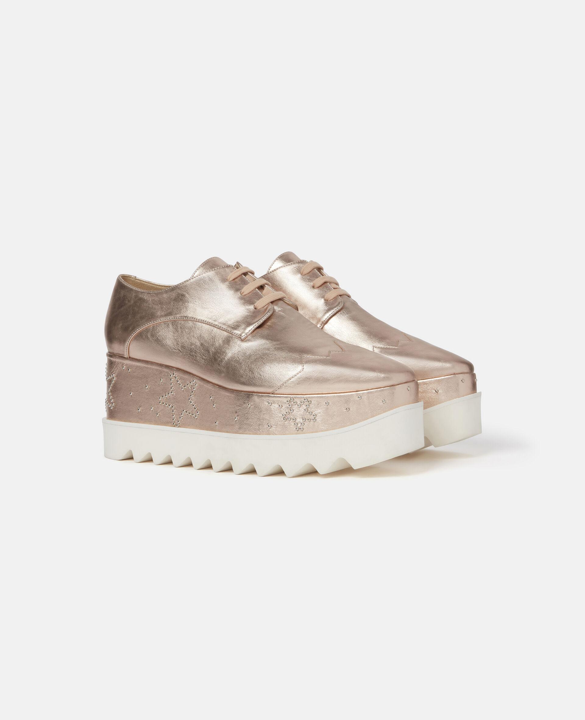 Chaussures compensées pailletées Elyse-Gris-large image number 1