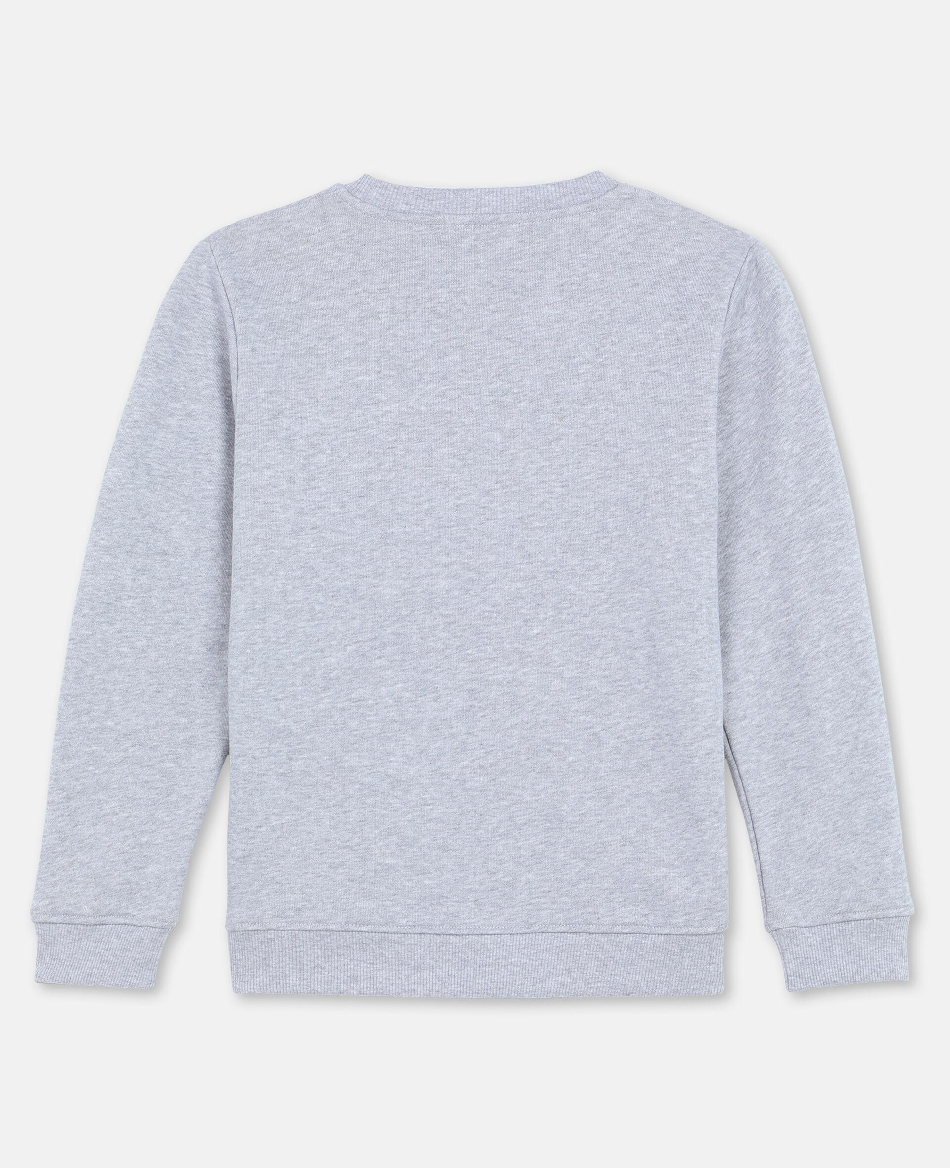 Roarrr Cotton Sweatshirt -Grey-large image number 3