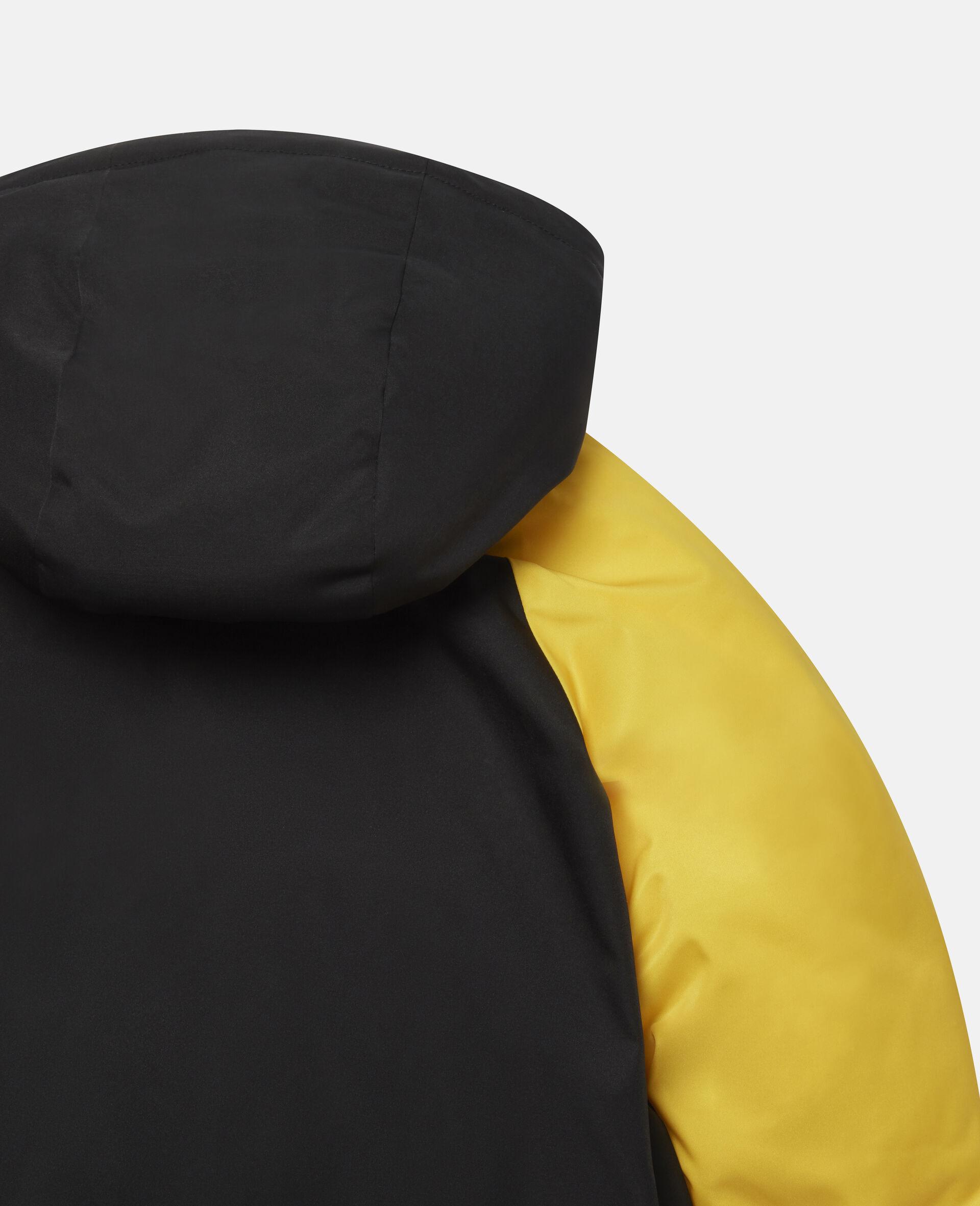 Colourblock Puffer Jacket-Multicolour-large image number 2