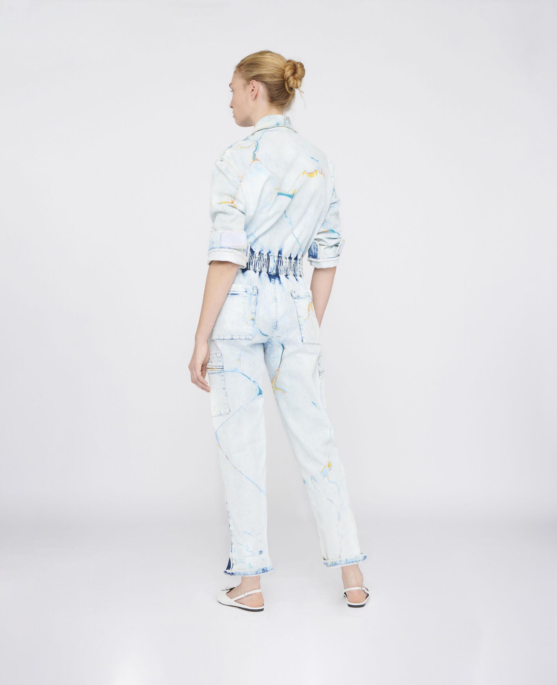 The Denim Jumpsuit -Multicolour-large image number 2
