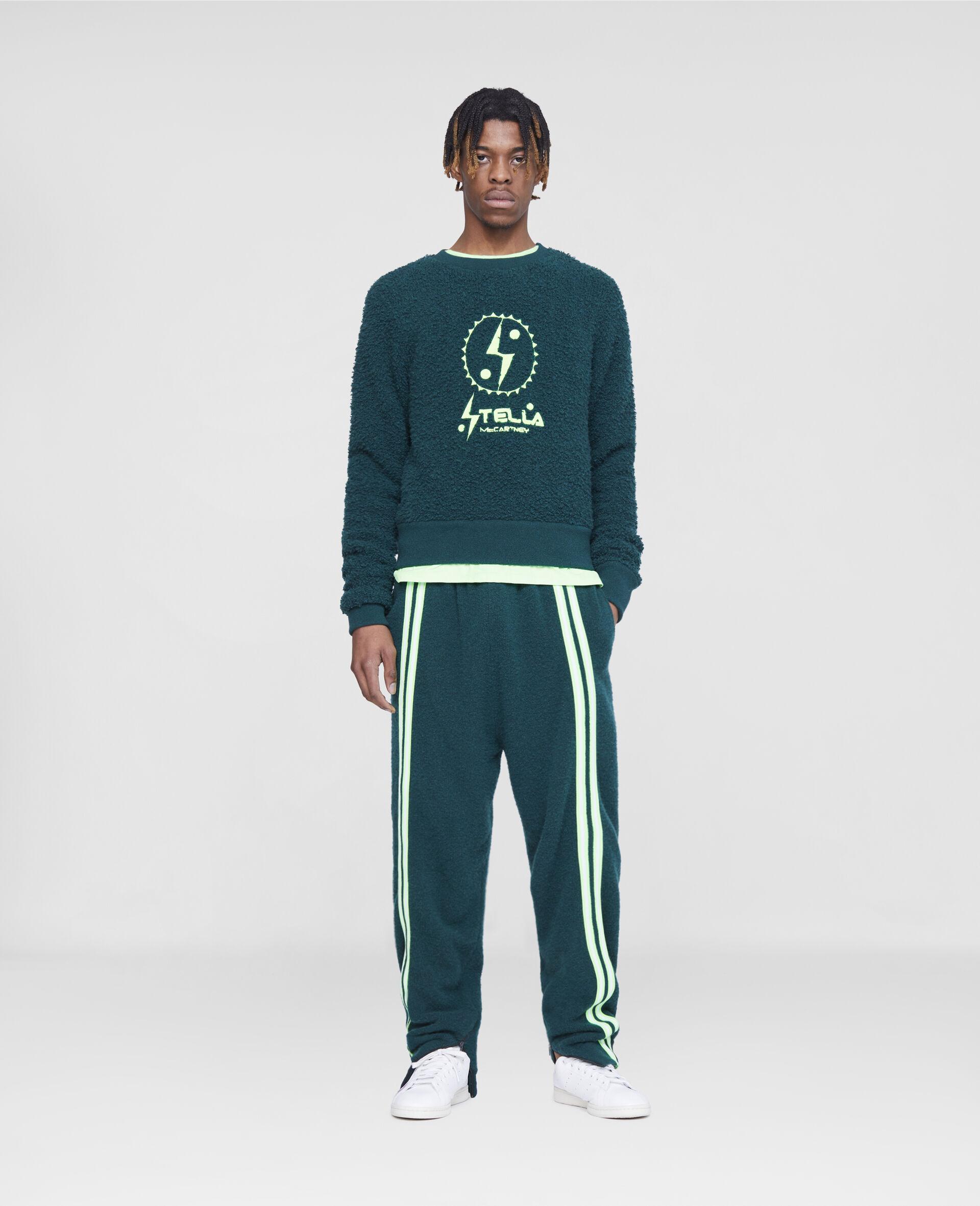 Pantaloni da Training con Logo Stella Tom Tosseyn-Verde-large image number 1