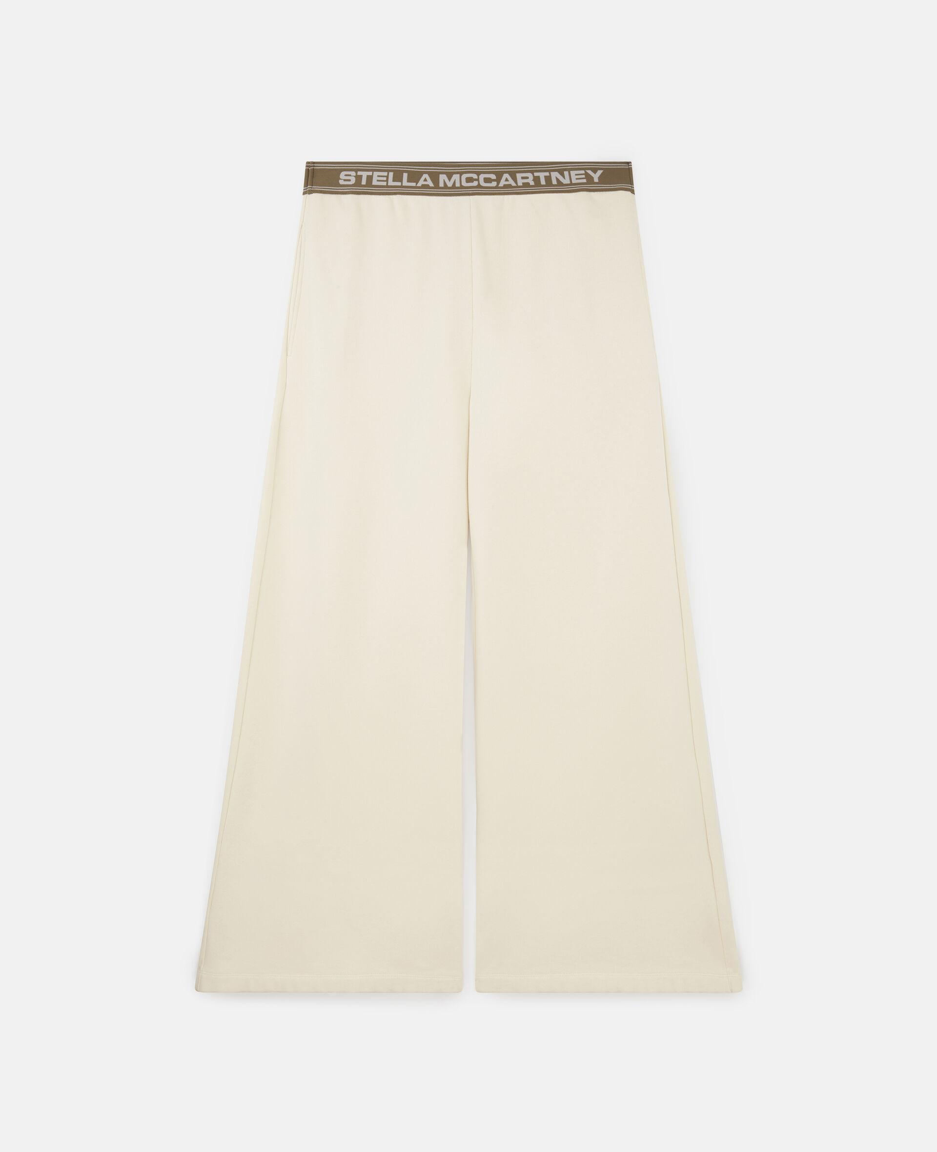 Pantalon de survetement Stella Logo -Blanc-large image number 0