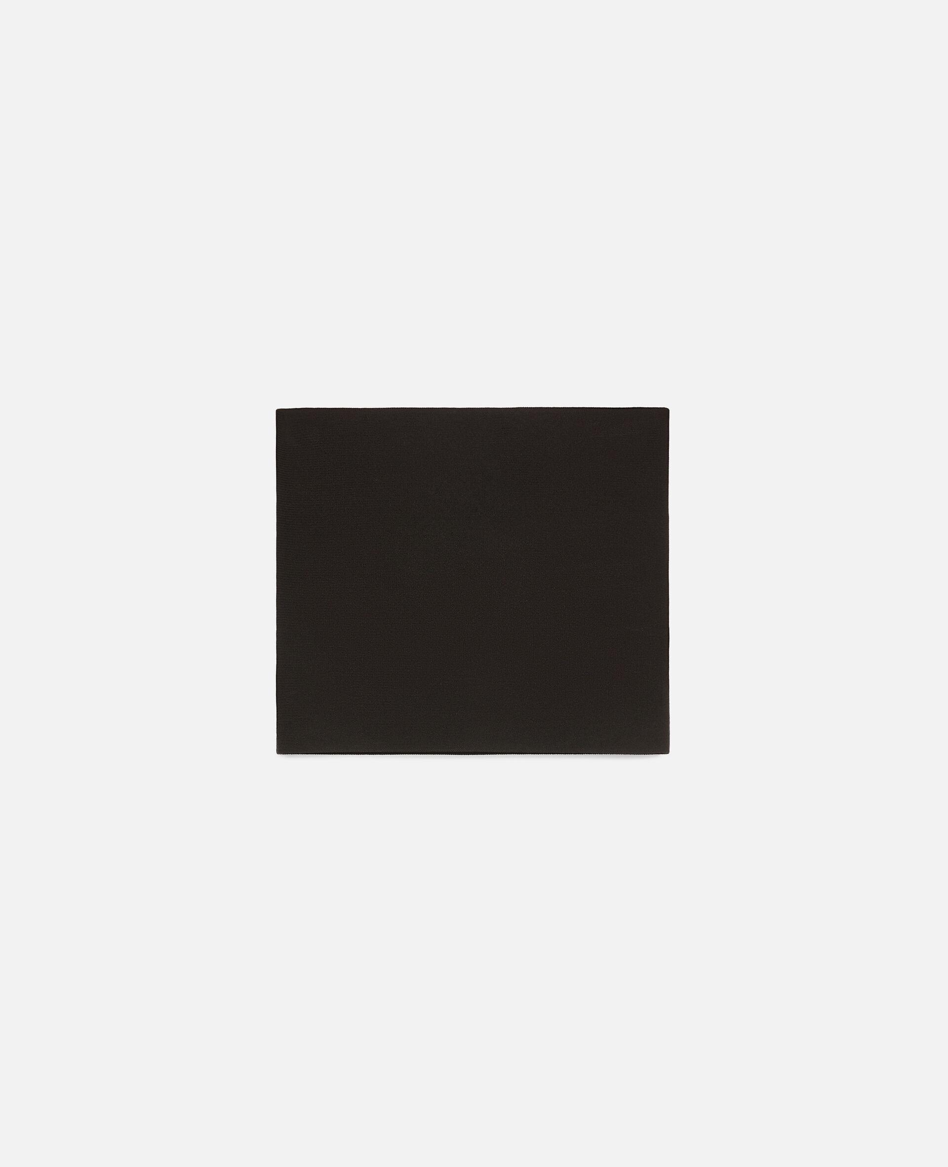 致密针织上衣-黑色-large image number 0